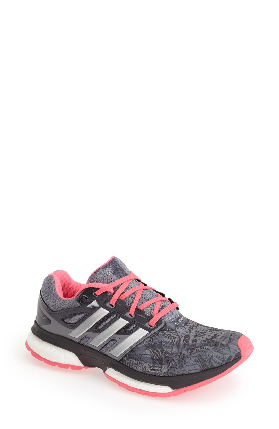 Alternate Image 1 Selected - adidas 'Response Boost' Running Shoe (Women)