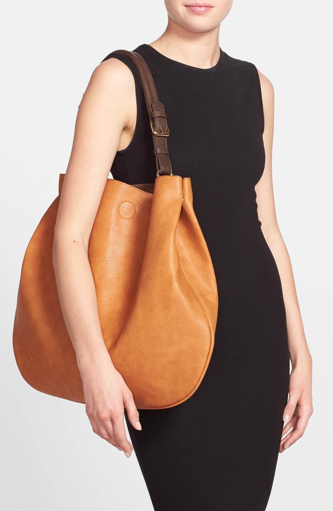 Alternate Image 2  - Sole Society 'Capri' Faux Leather Tote