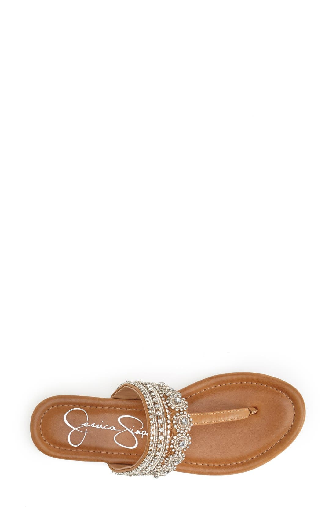 Alternate Image 3  - Jessica Simpson 'Roelle' Embellished Sandal (Women)