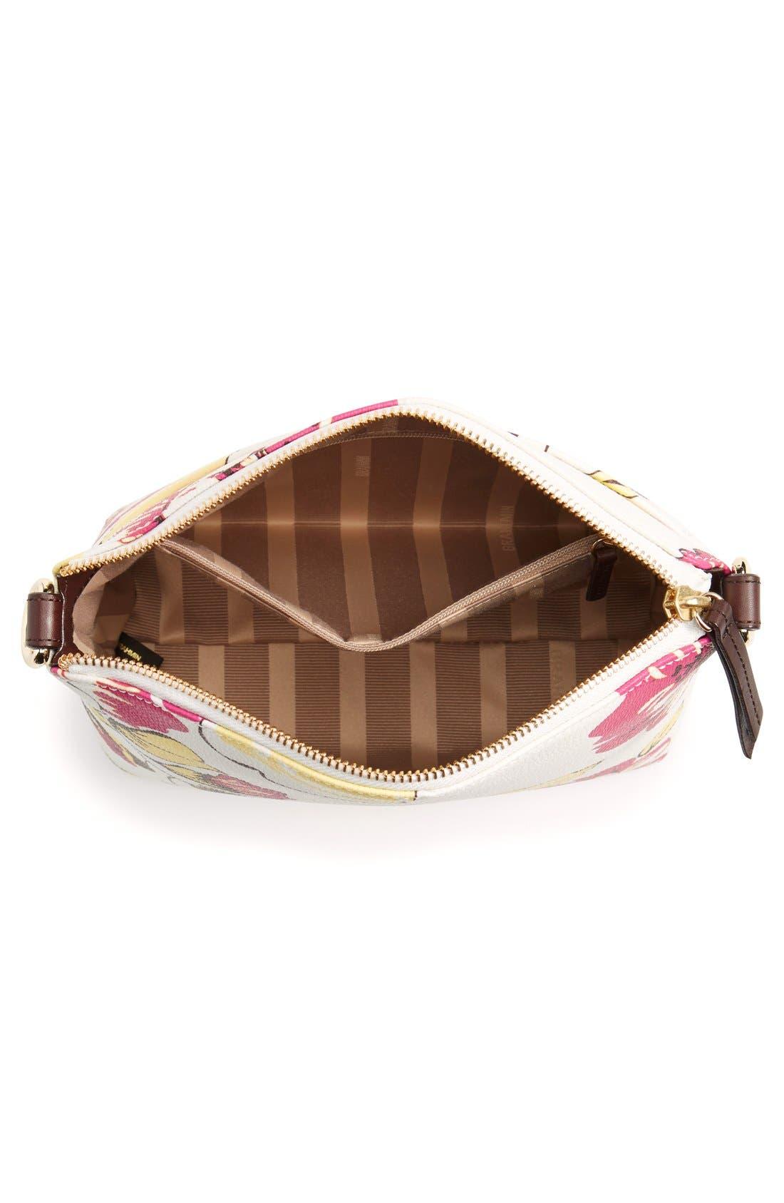 Alternate Image 4  - Brahmin 'Mini Duxbury' Leather Crossbody Bag