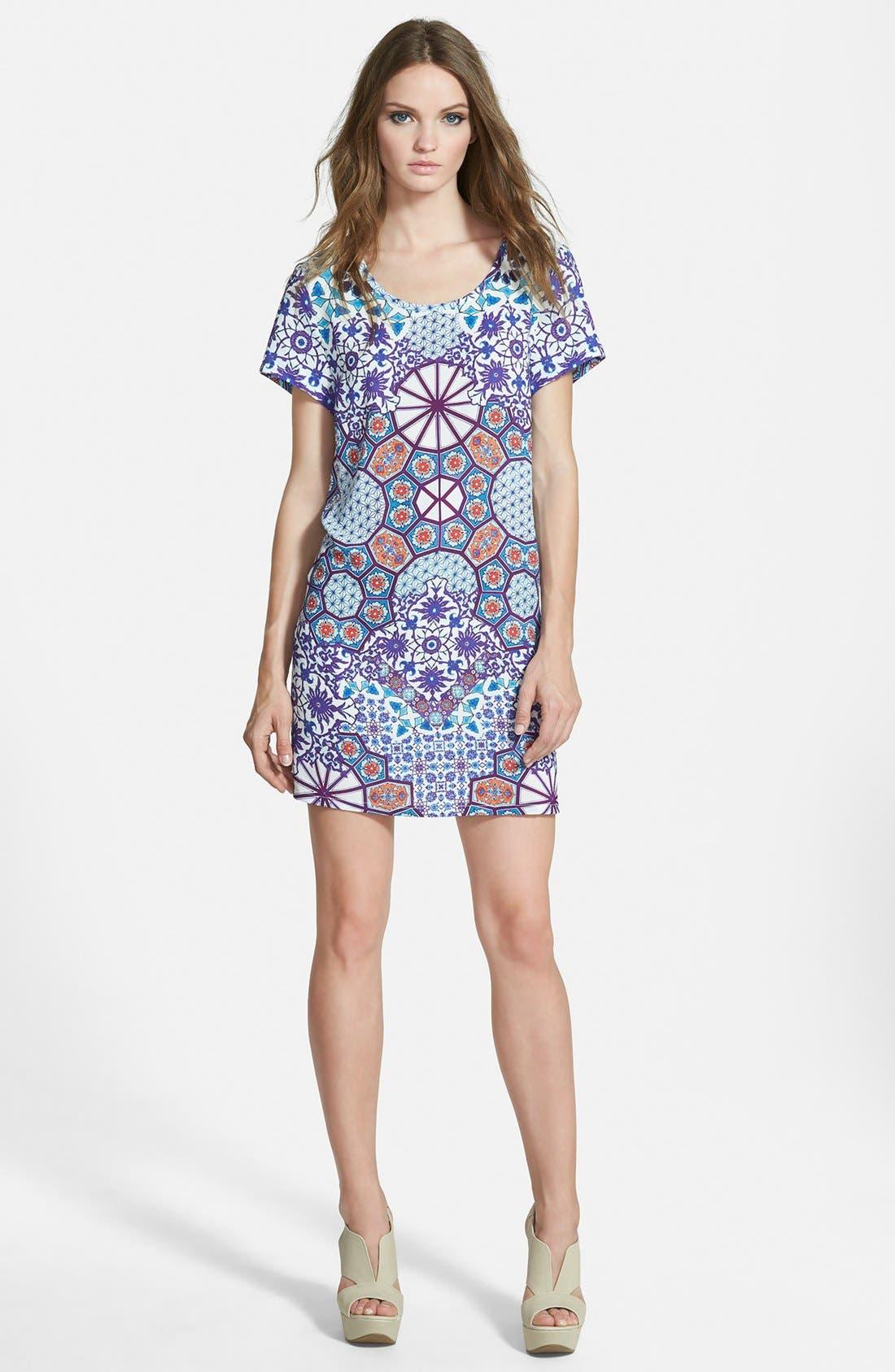 Alternate Image 1 Selected - MINKPINK 'Whisper of the Heart' T-Shirt Dress