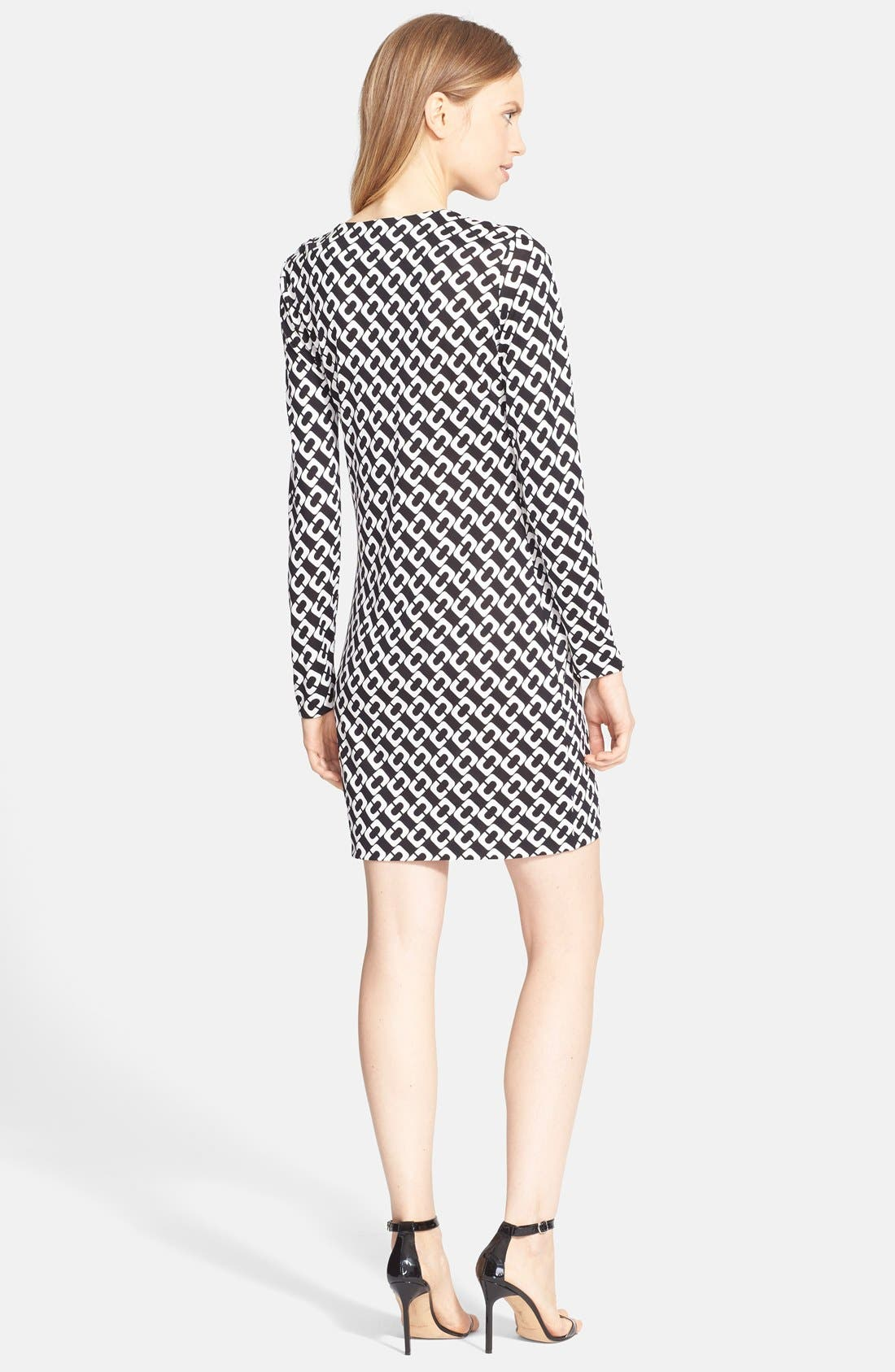 Alternate Image 2  - Diane von Furstenberg 'Reina' Silk Shift Dress