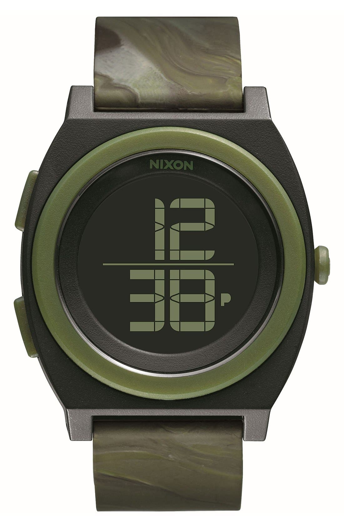 Alternate Image 1 Selected - Nixon 'Time Teller' Digital Watch, 40mm