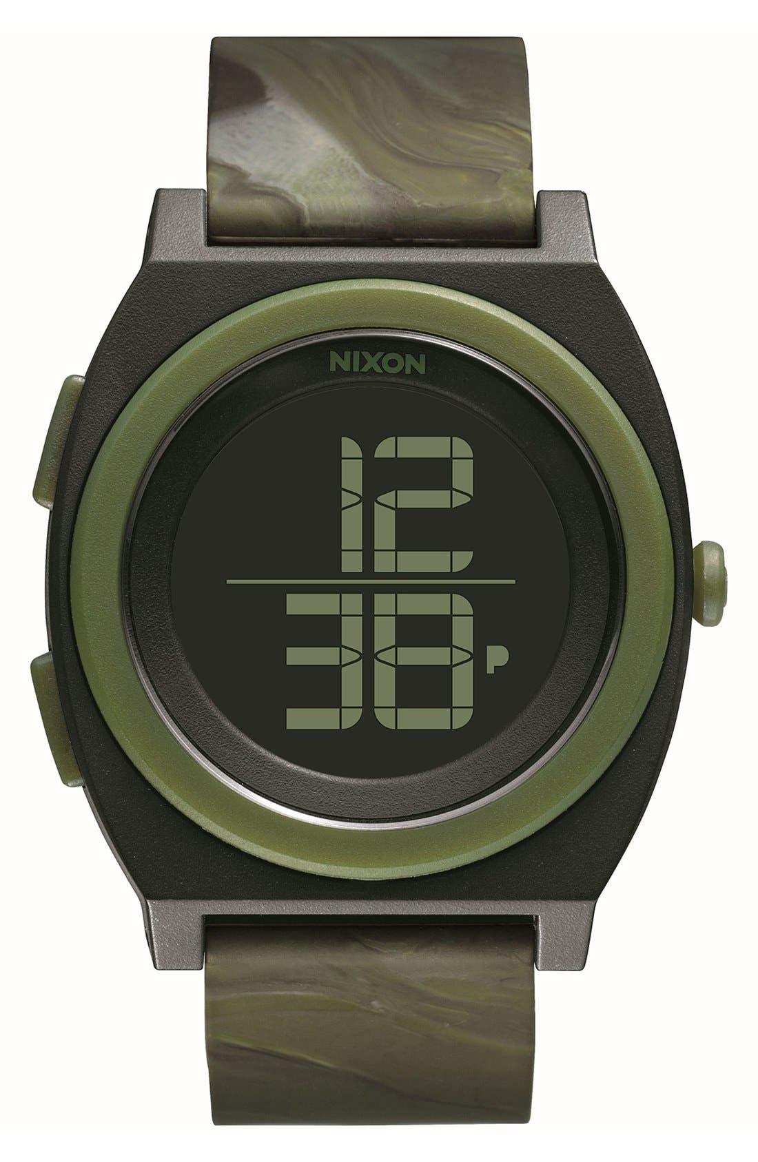 Main Image - Nixon 'Time Teller' Digital Watch, 40mm