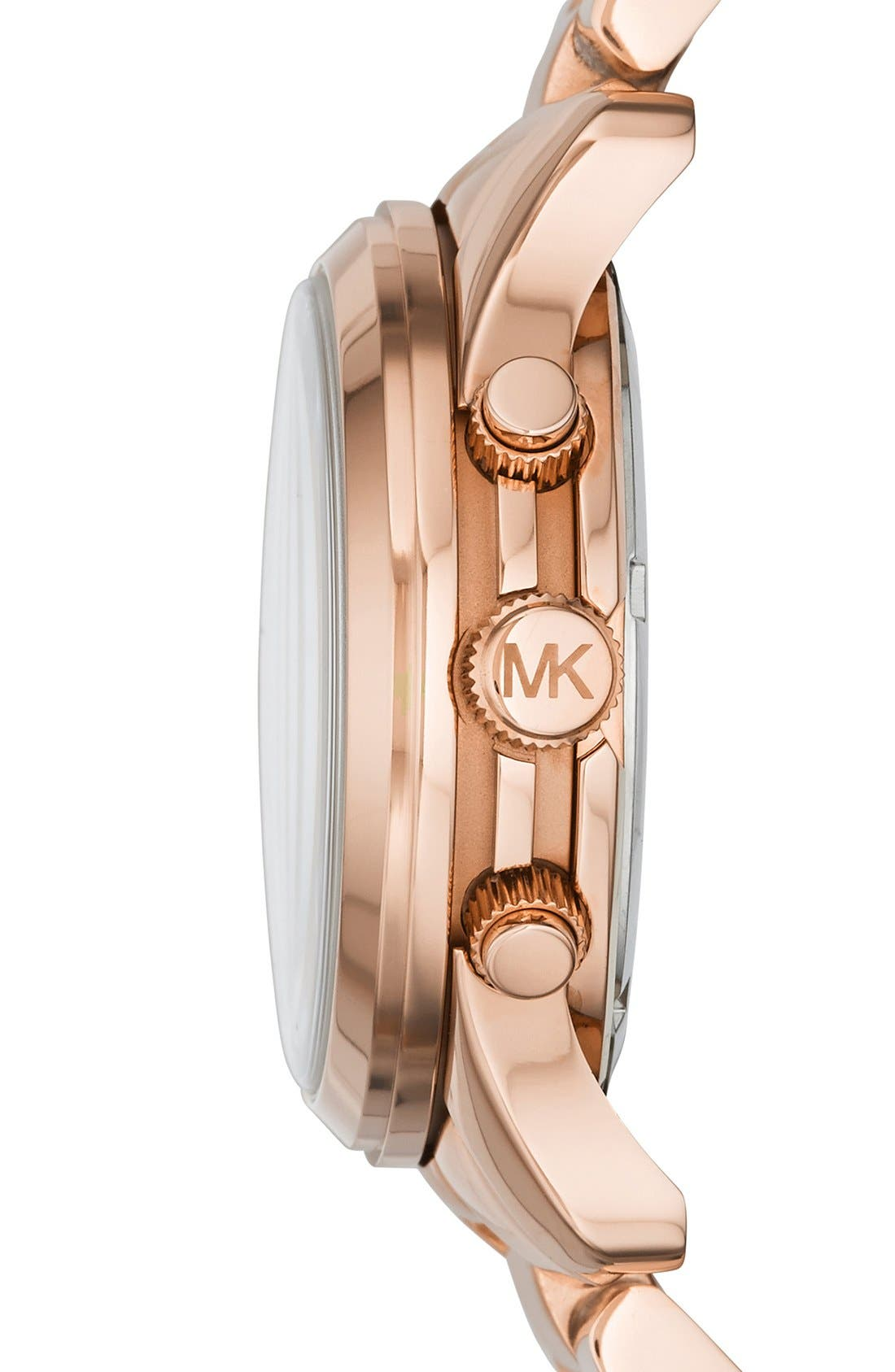 Alternate Image 2  - Michael Kors 'Runway' Chronograph Watch, 38mm