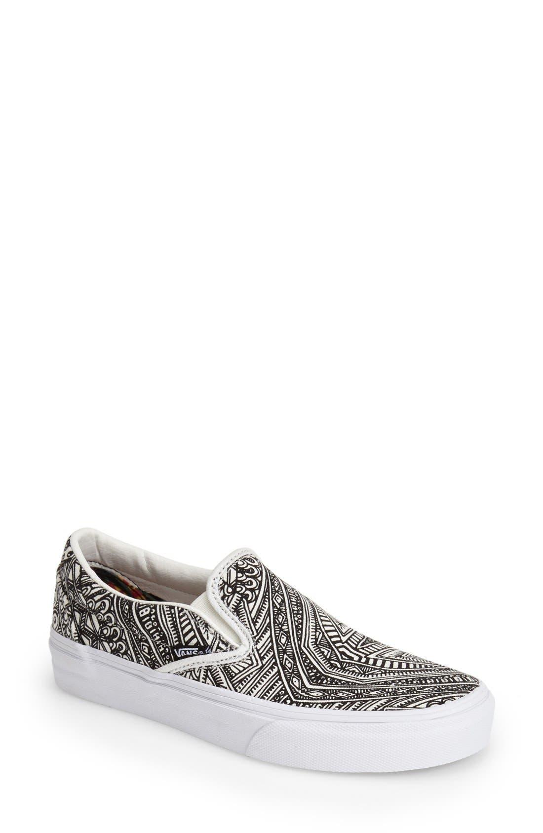 Alternate Image 1 Selected - Vans 'Classic - Zio Ziegler' Slip-On Sneaker (Women)
