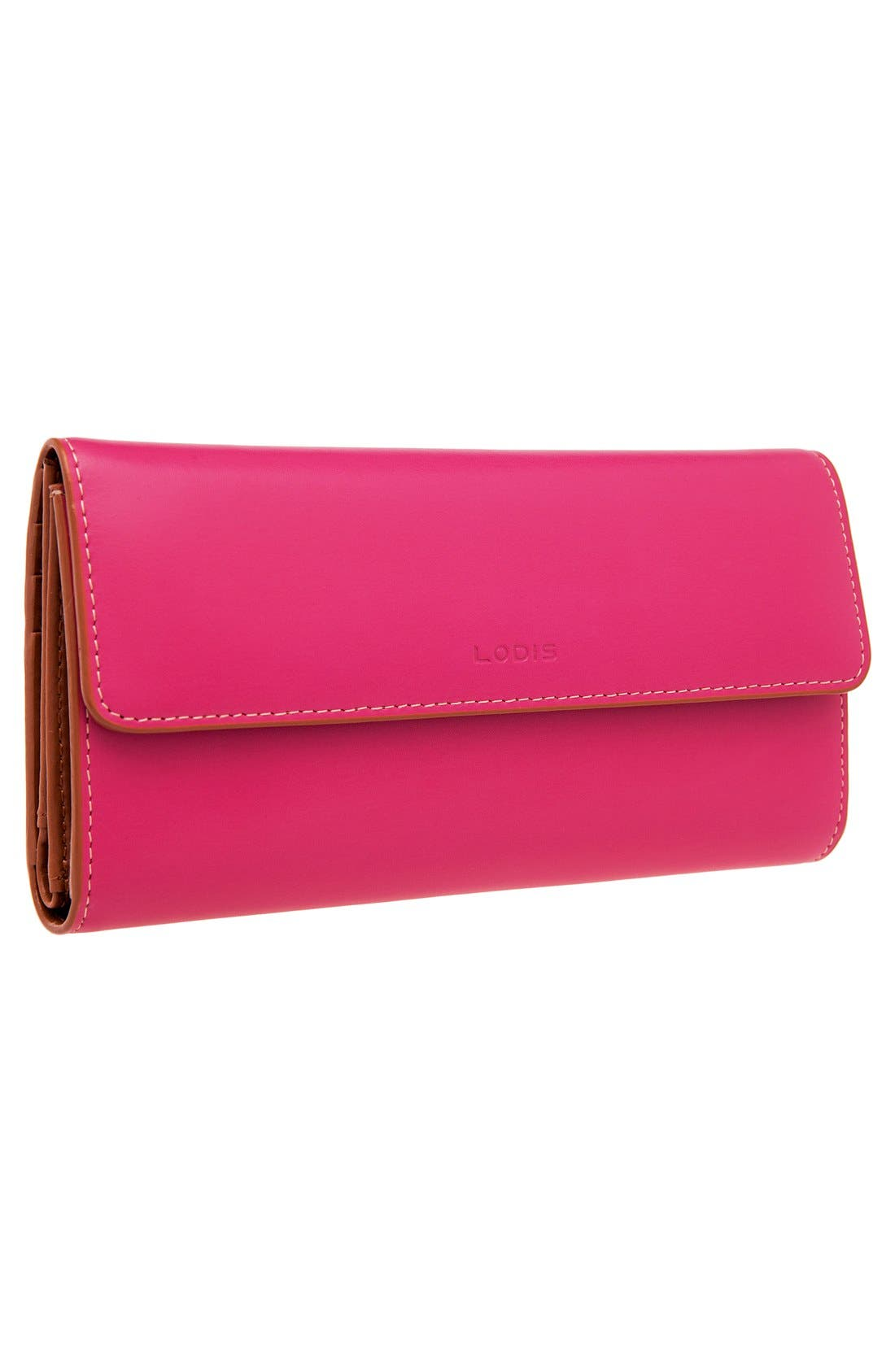 Alternate Image 5  - Lodis 'Audrey' Checkbook Clutch Wallet