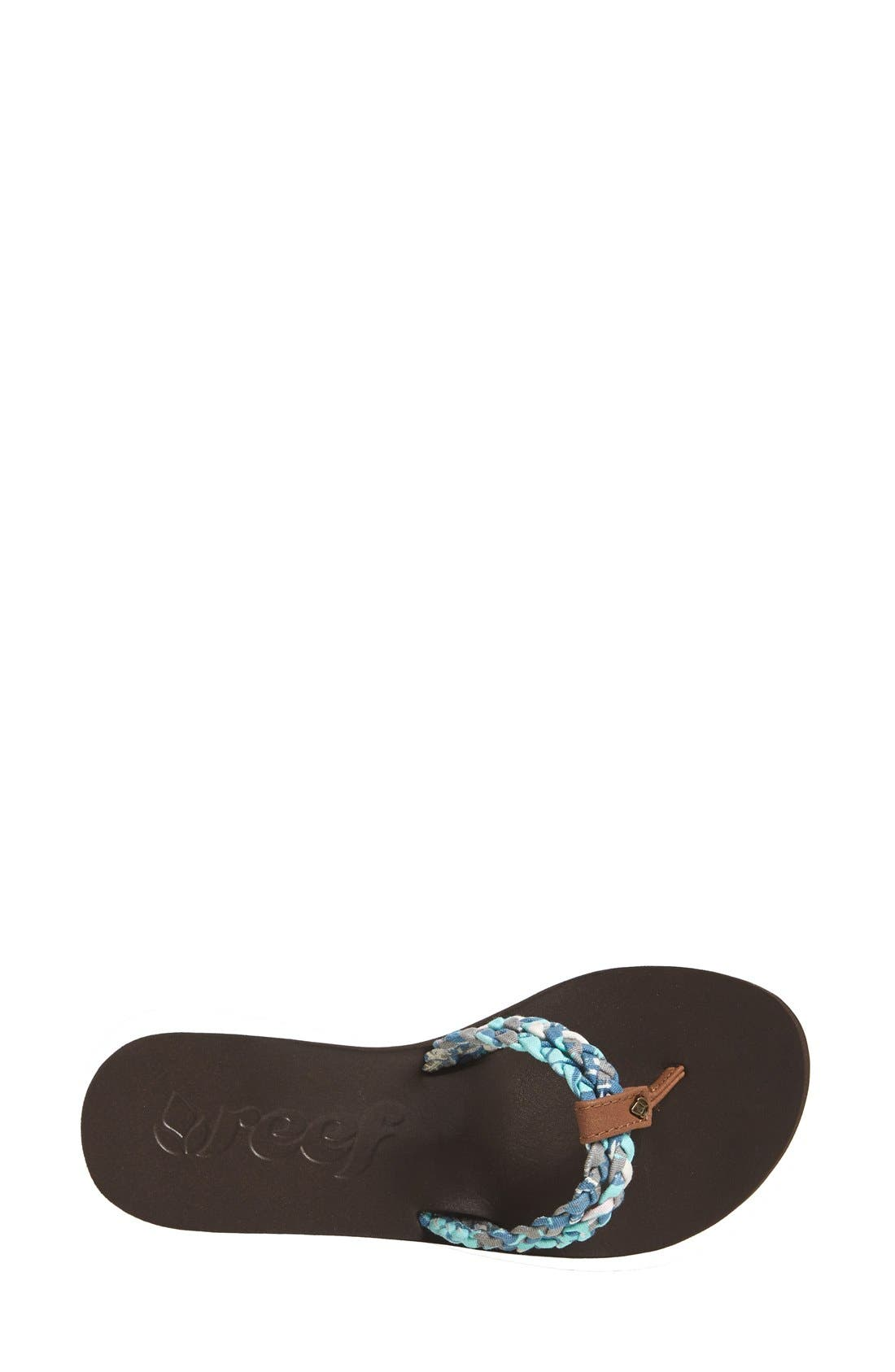 Alternate Image 2  - Reef 'Twisted Sky' Flip-Flop Thong Sandal (Women)