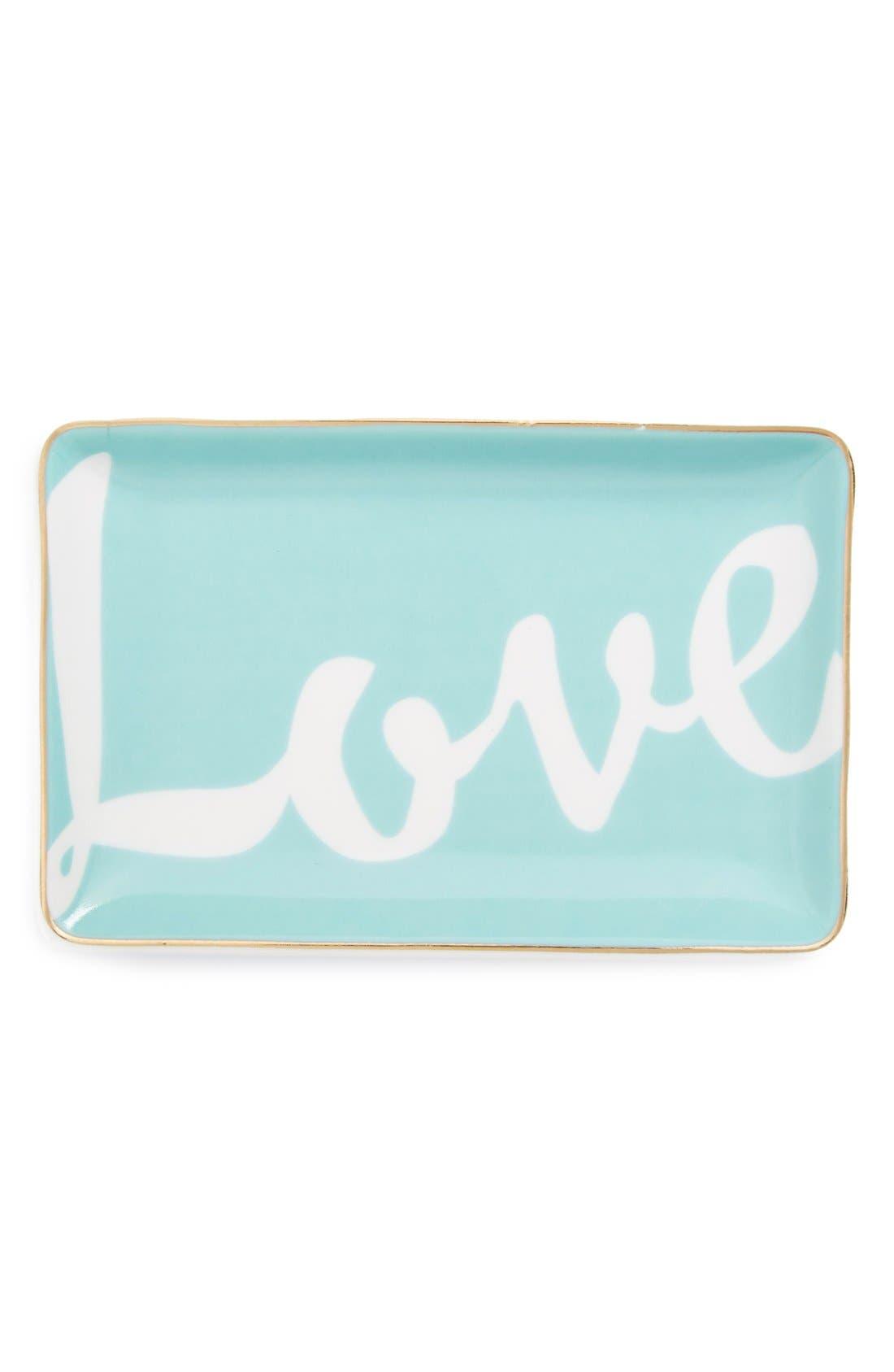 Alternate Image 1 Selected - Rosanna 'Love' Trinket Tray