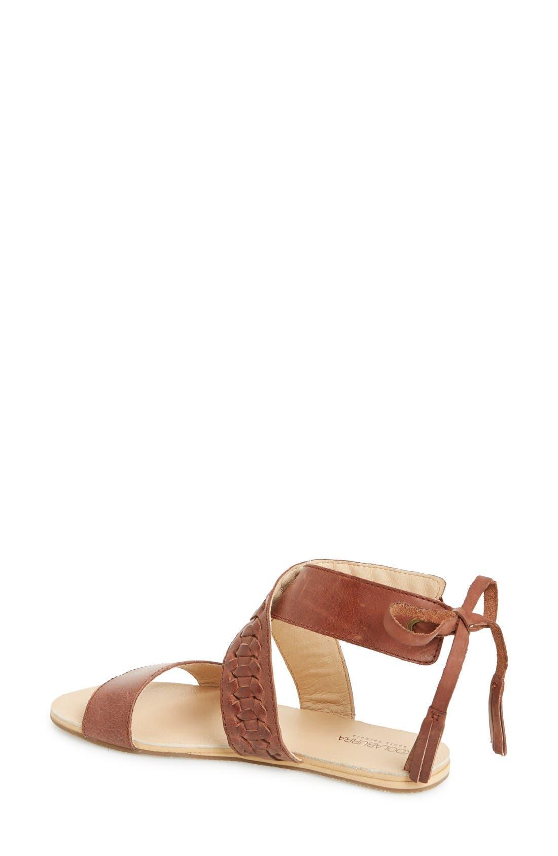 Alternate Image 2  - Koolaburra 'Alexa' Leather Ankle Strap Sandal (Women)