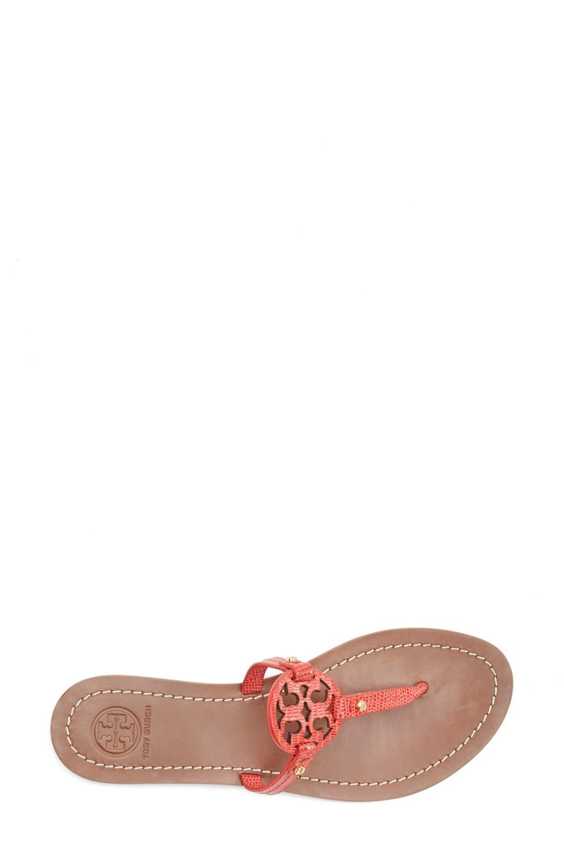 Alternate Image 3  - Tory Burch 'Mini Miller' Leather Thong Sandal (Women)