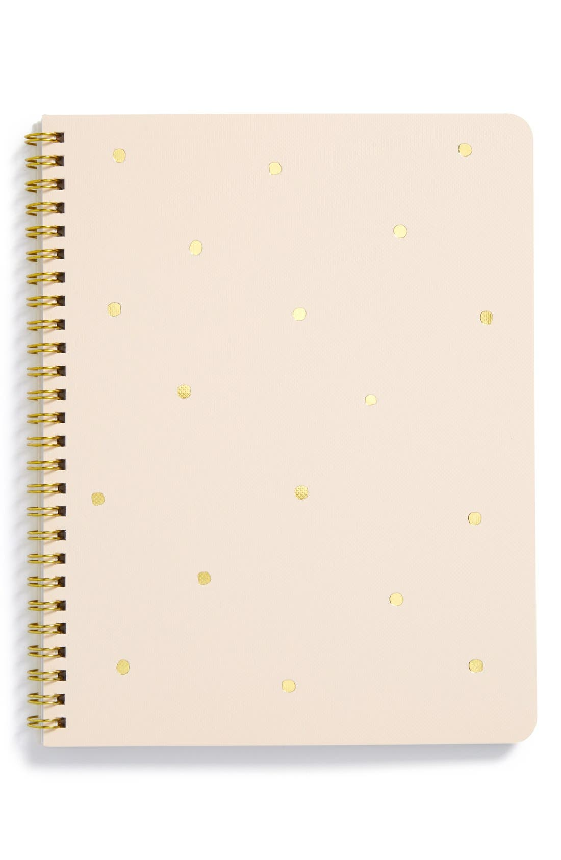 Alternate Image 1 Selected - sugar paper 'Small Polka Dot' Spiral Notebook