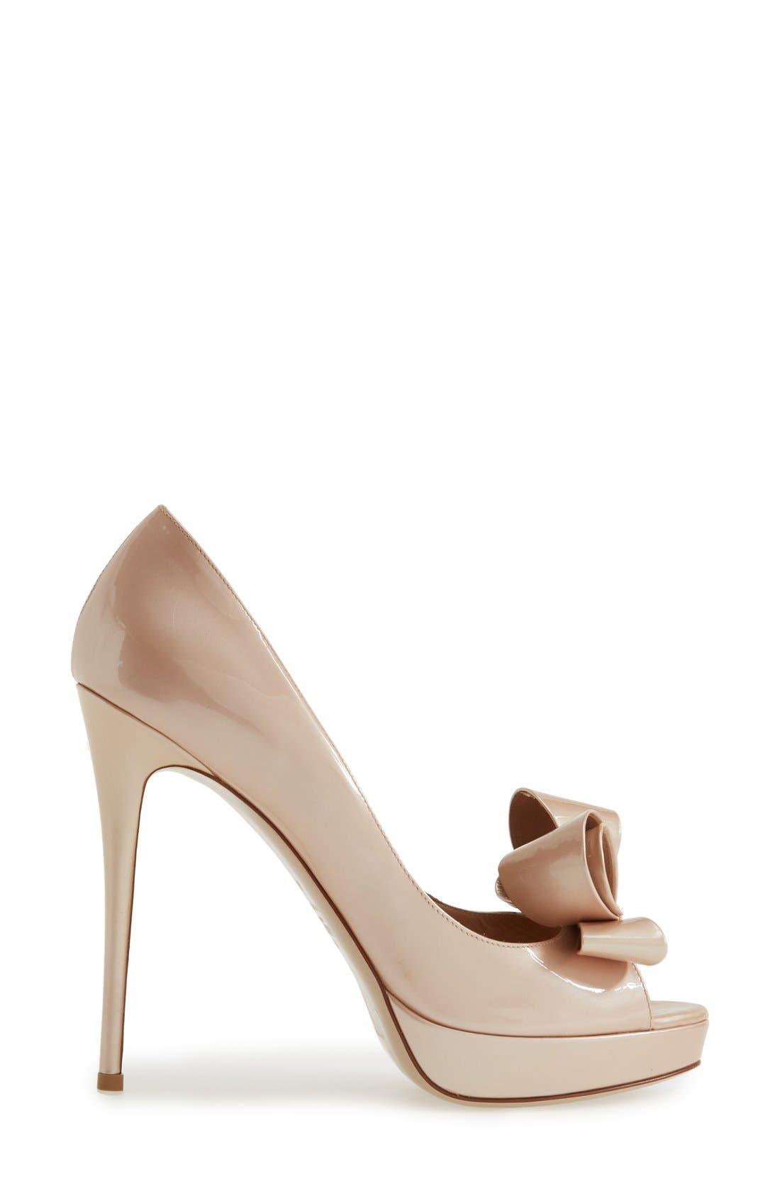 Alternate Image 4  - Valentino Couture Bow Platform Pump (Women)