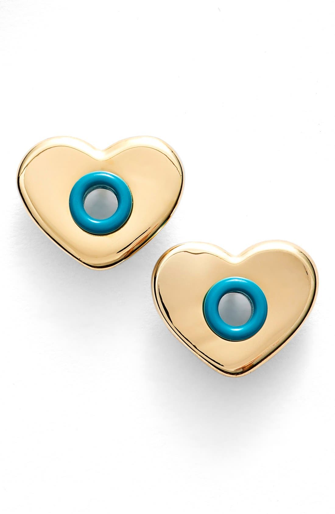 Alternate Image 1 Selected - MARC BY MARC JACOBS 'Hole Hearted' Stud Earrings
