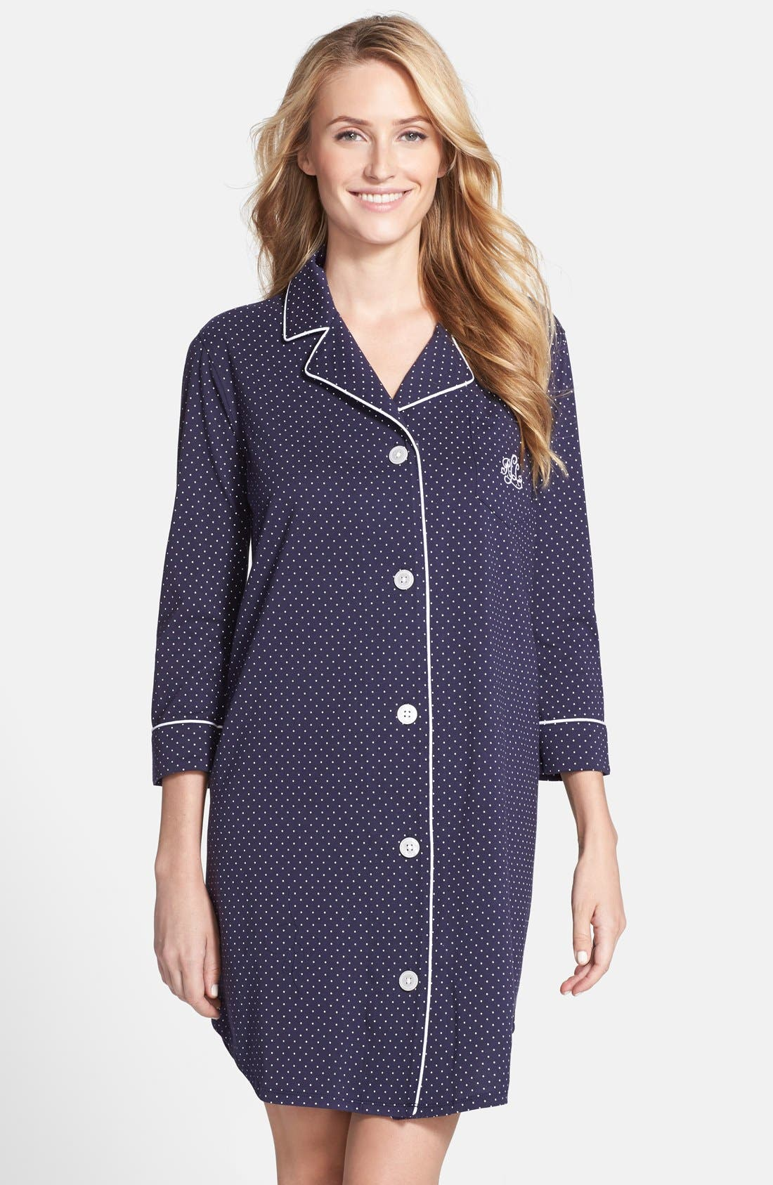 LAUREN RALPH LAUREN Jersey Sleep Shirt