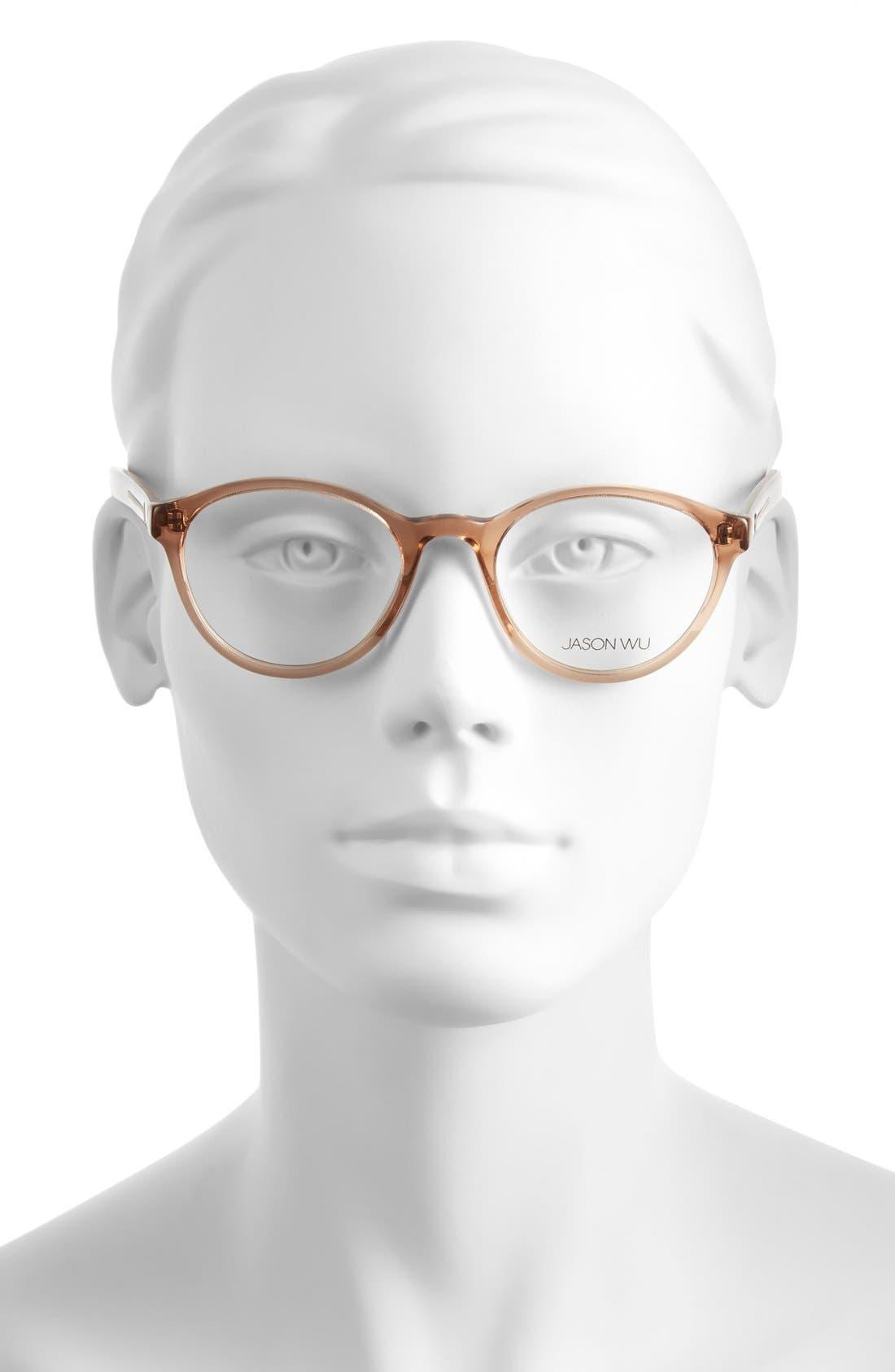 Alternate Image 2  - Jason Wu 'Rhonda' 48mm Optical Glasses
