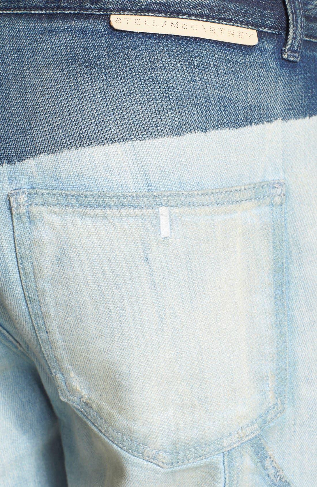 Alternate Image 3  - Stella McCartney 'The Patchwork' Boyfriend Jeans