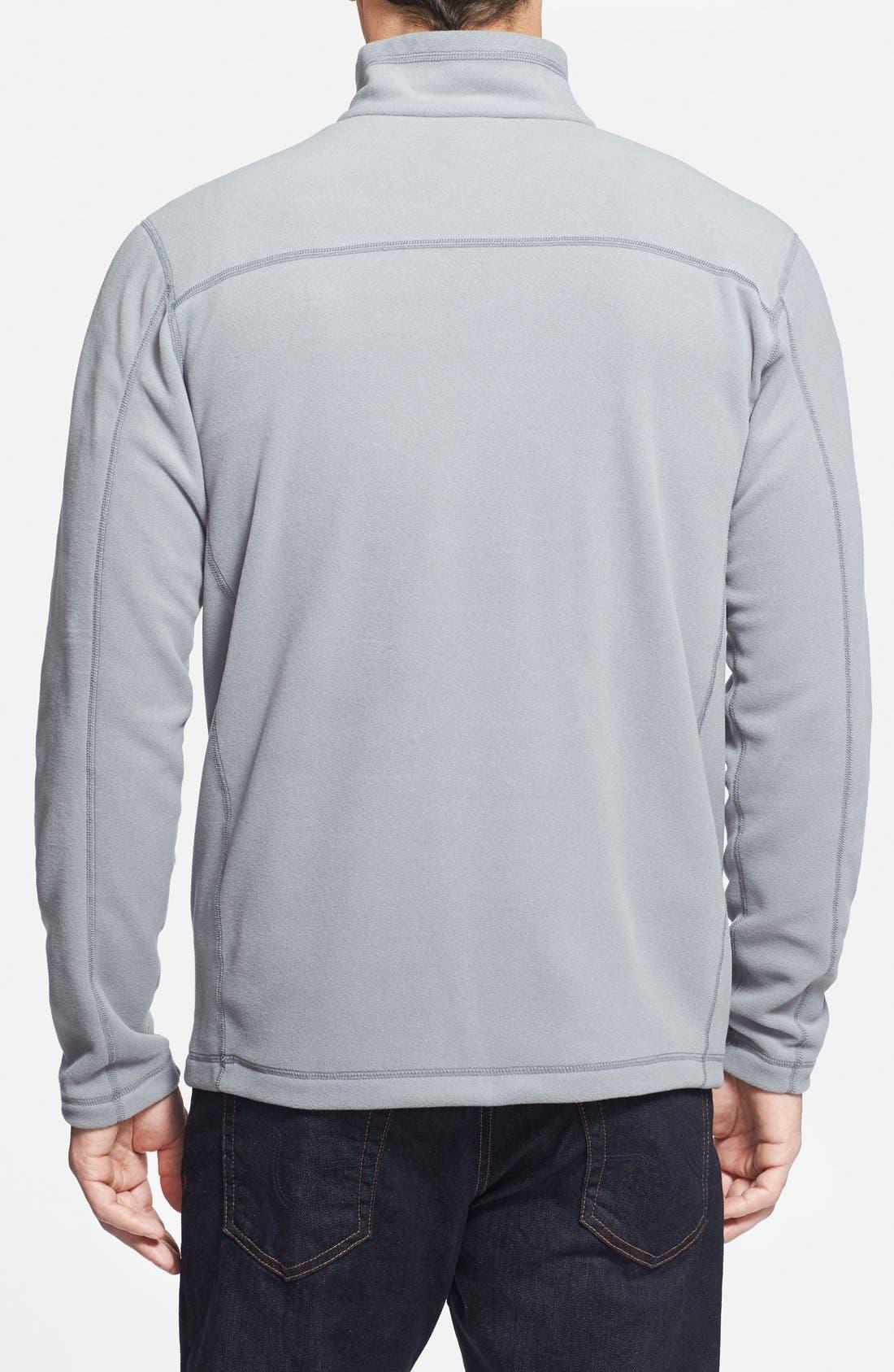 Alternate Image 2  - Patagonia 'Micro D' Quarter Zip Front Pullover