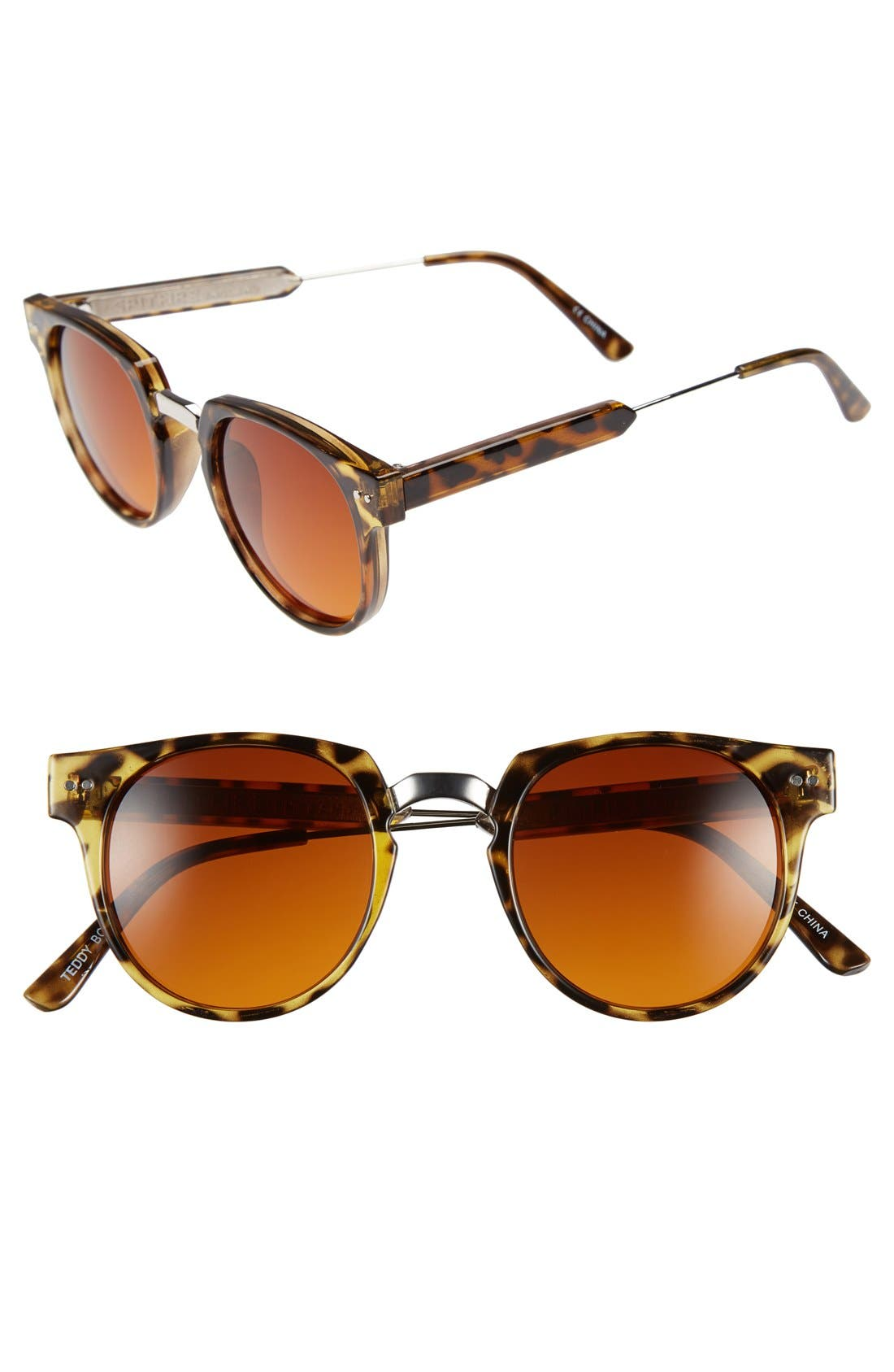 Alternate Image 1 Selected - Spitfire 'Teddy Boy 2' 45mm Round Sunglasses