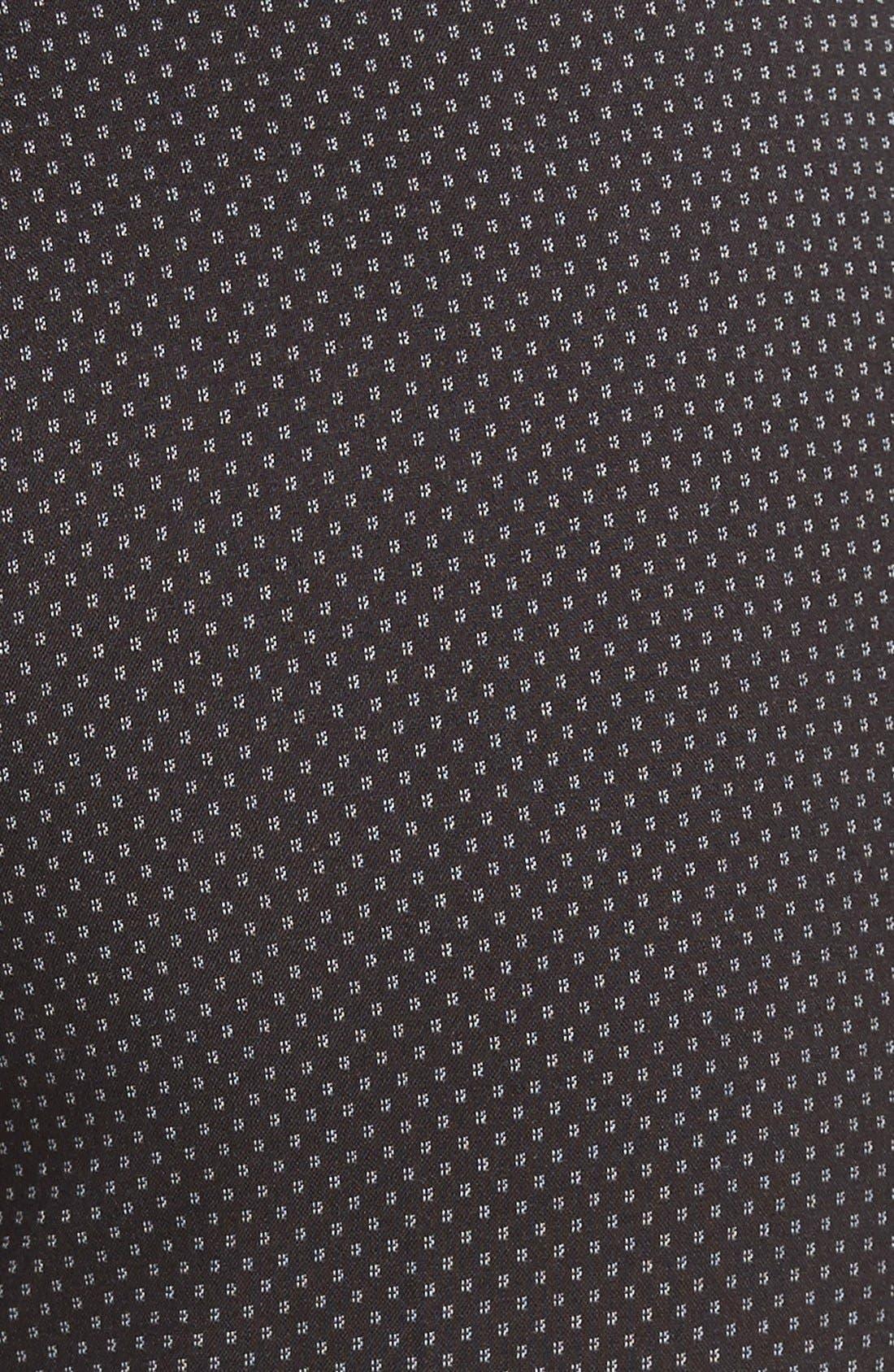 Alternate Image 3  - Halogen® 'Taylor' Darling Dot Suit Pants (Regular & Petite)