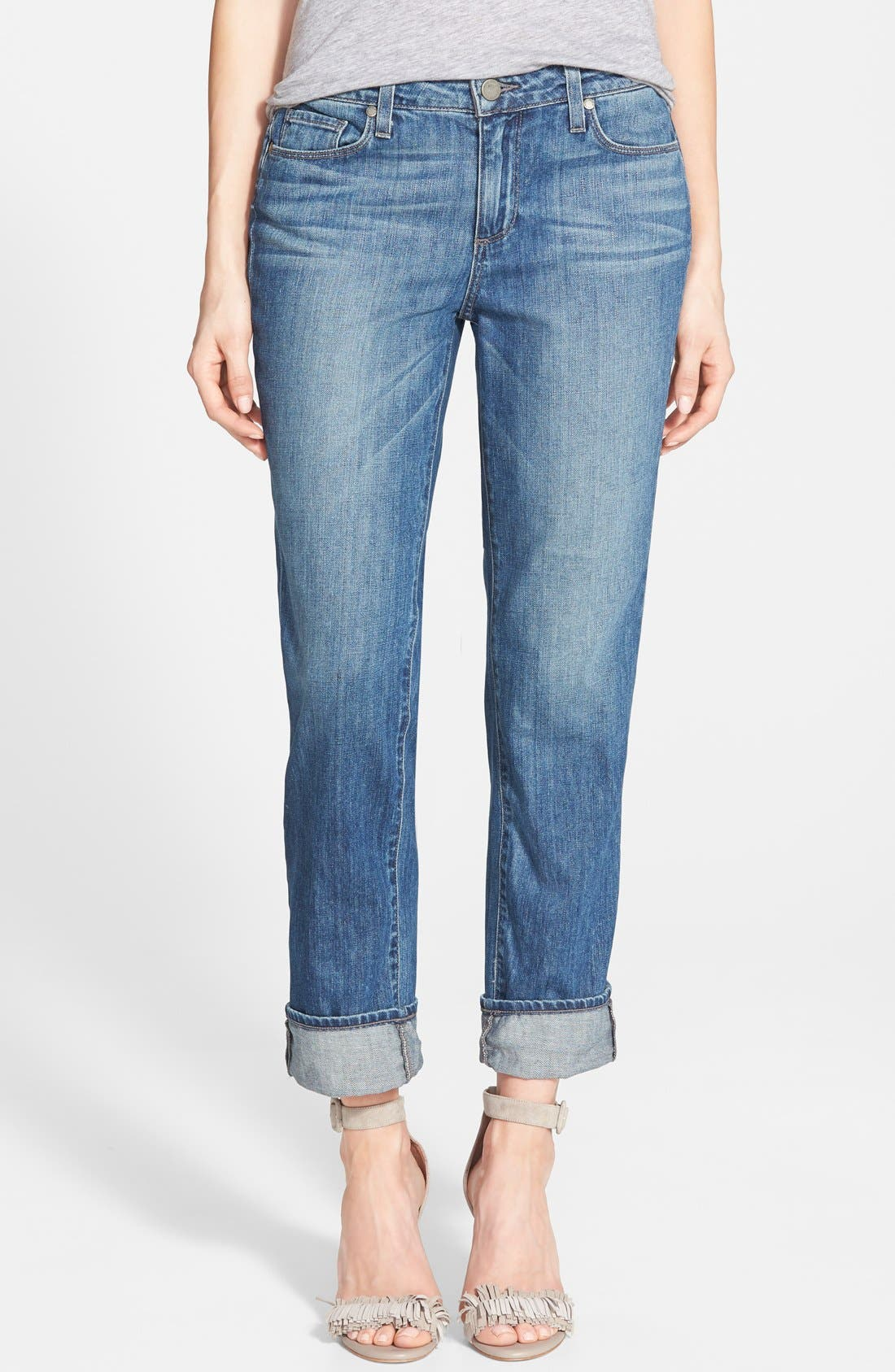 Alternate Image 1 Selected - Paige Denim 'Porter' Boyfriend Jeans (Dazely)
