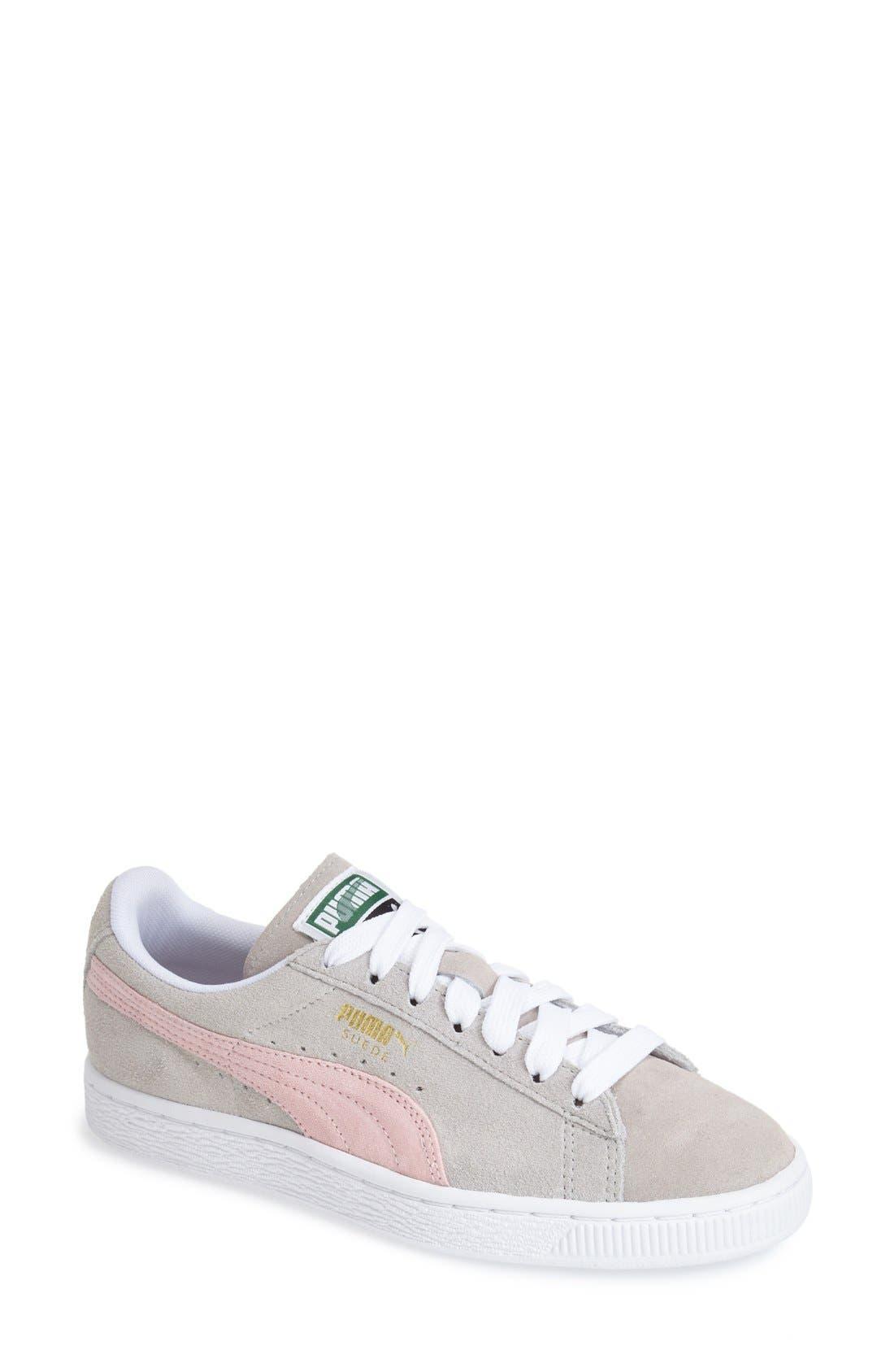 Main Image - PUMA 'Classic' Suede Sneaker (Women)