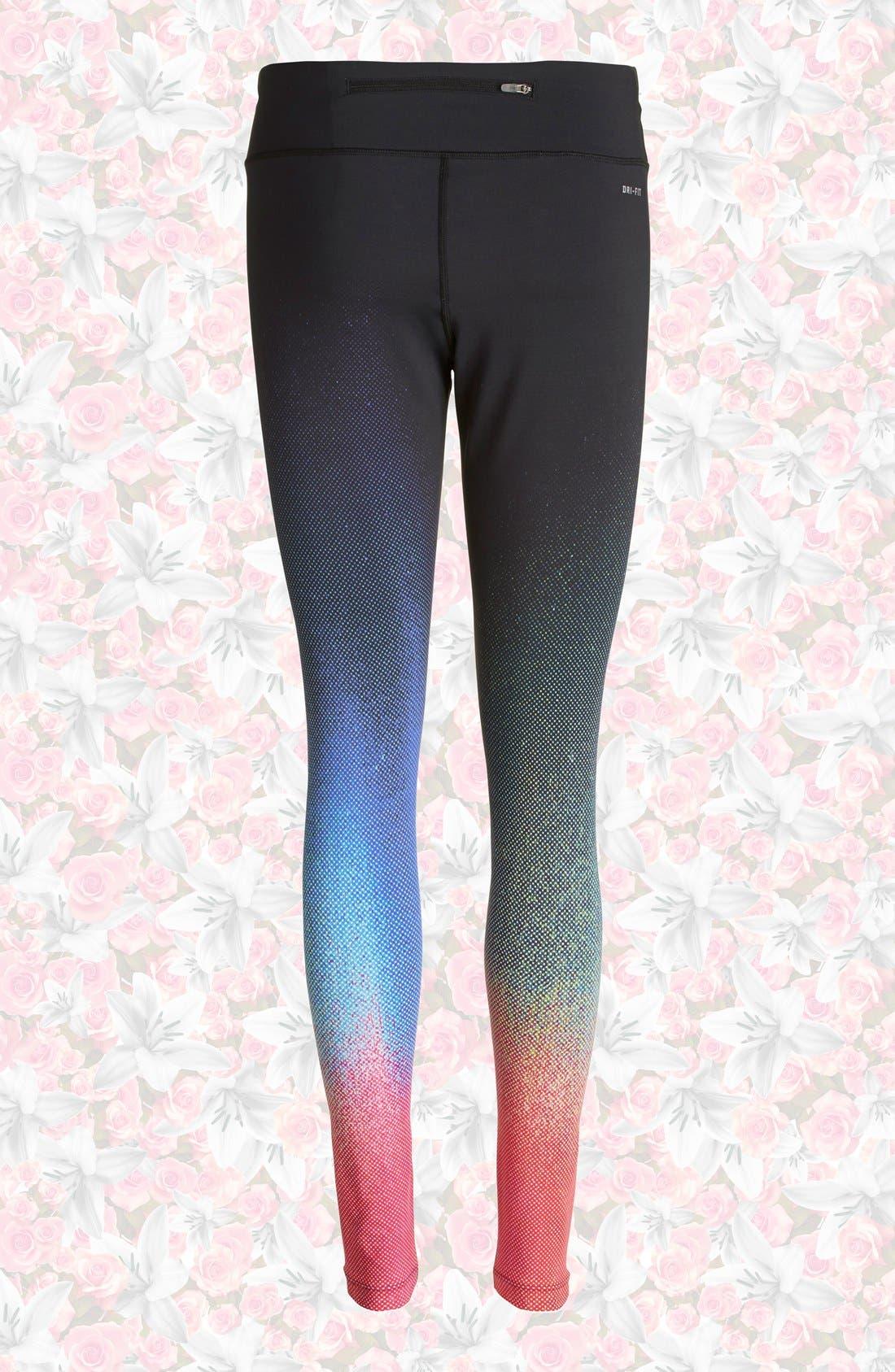 Alternate Image 2  - Nike 'ForeverGradient' Running Tights (Women)