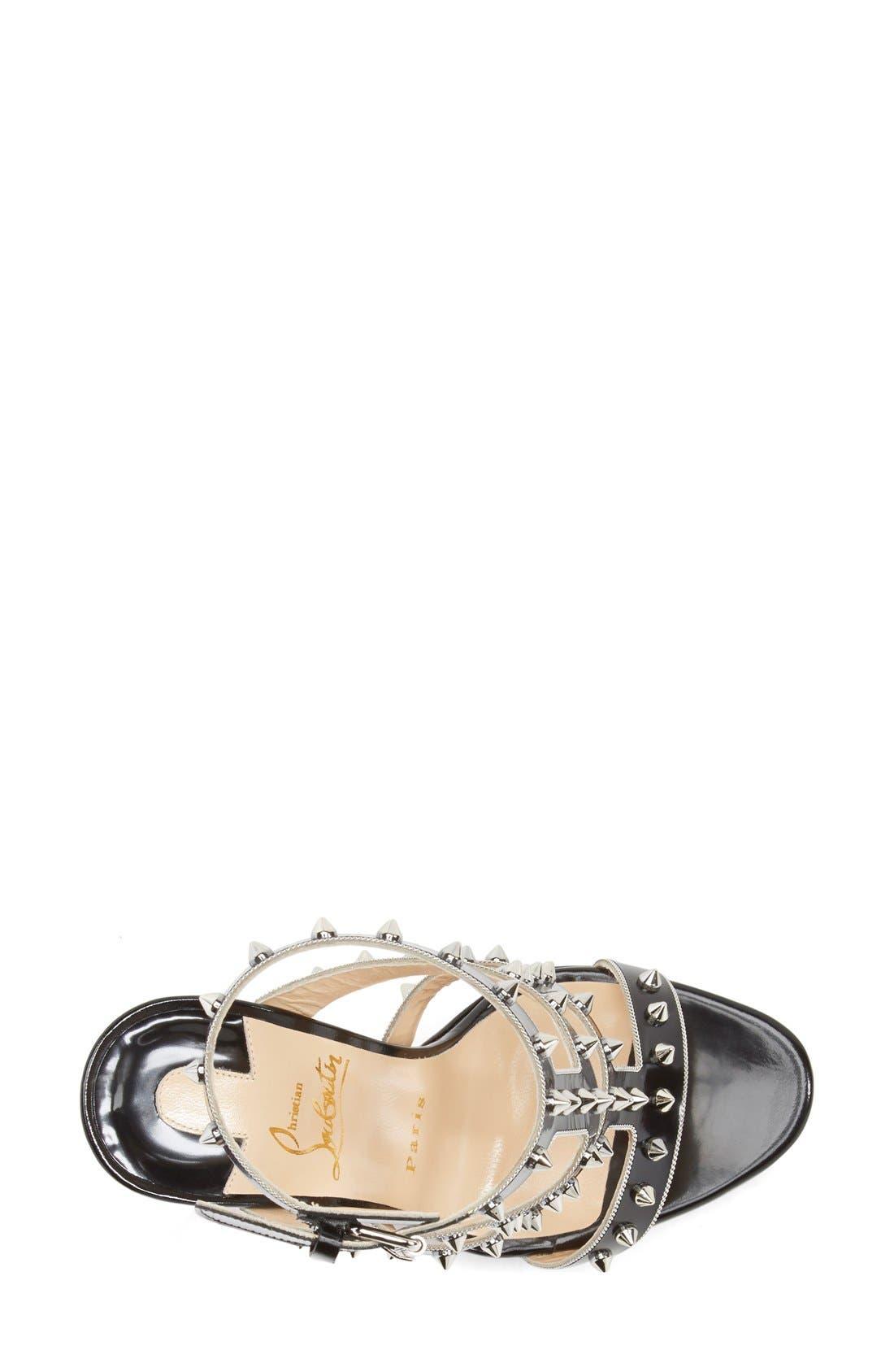 Alternate Image 3  - Christian Louboutin 'Sexy Strapi' Studded Ankle Strap Sandal