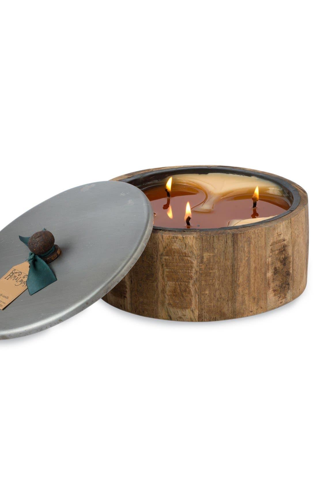 Main Image - Himalayan Trading Post 'Wooden Barrel' Candle