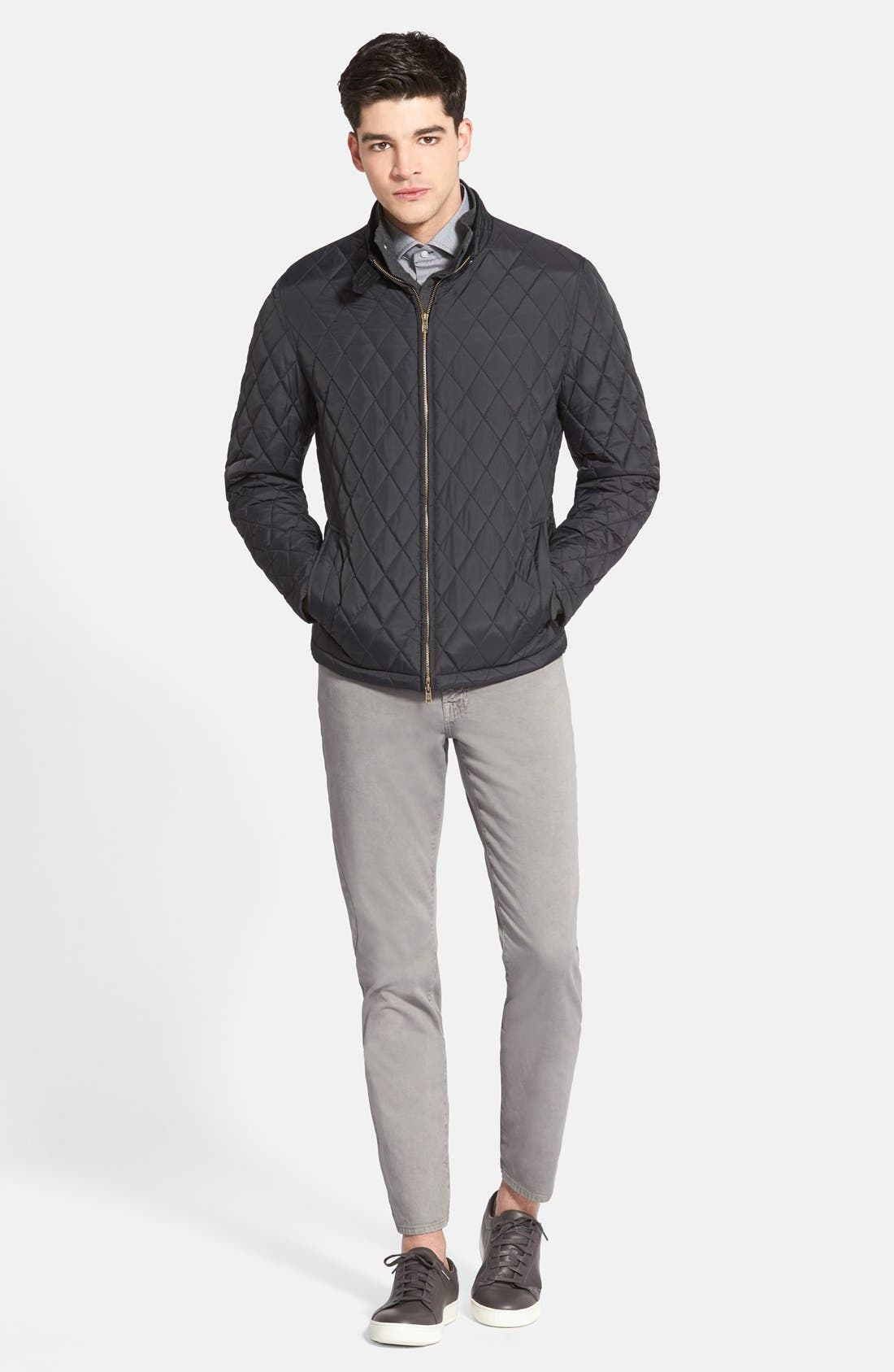 Alternate Image 4  - Vince Camuto Quilted Moto Jacket