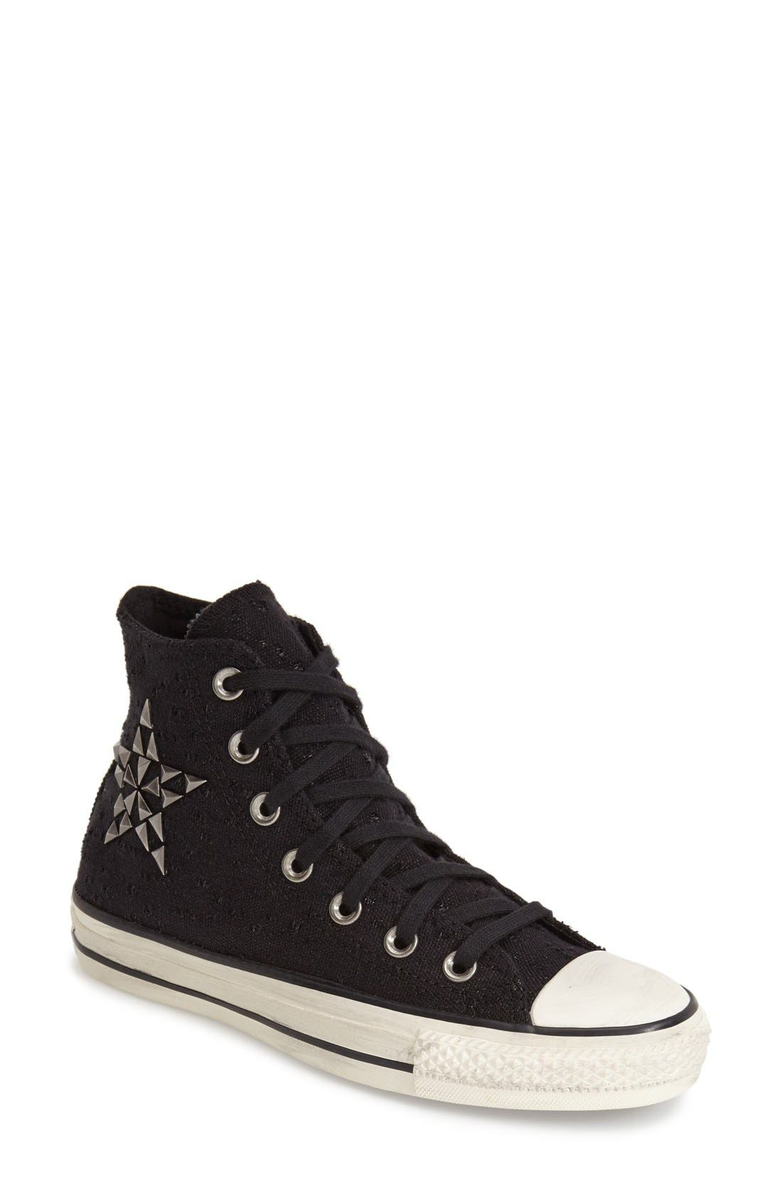Alternate Image 1 Selected - Converse Chuck Taylor® All Star® 'Star Hardware' High Top Sneaker (Women)