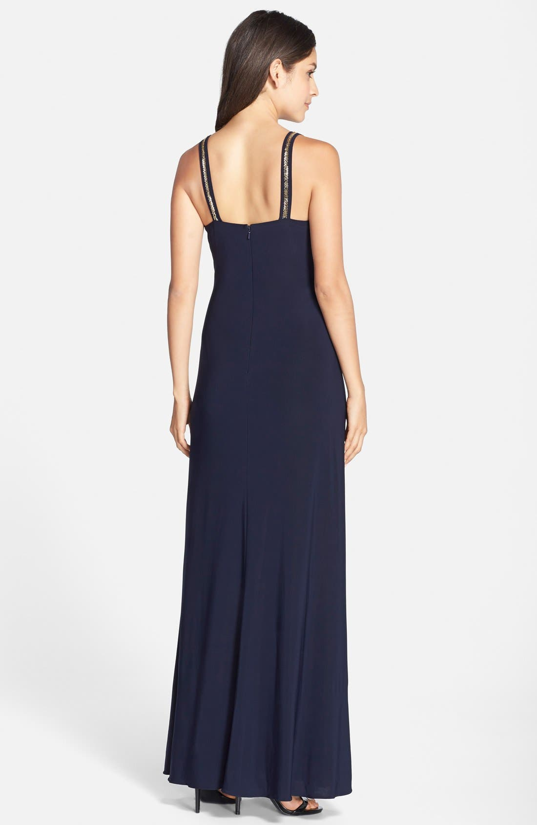 Alternate Image 2  - Betsy & Adam Cutout Jersey Gown