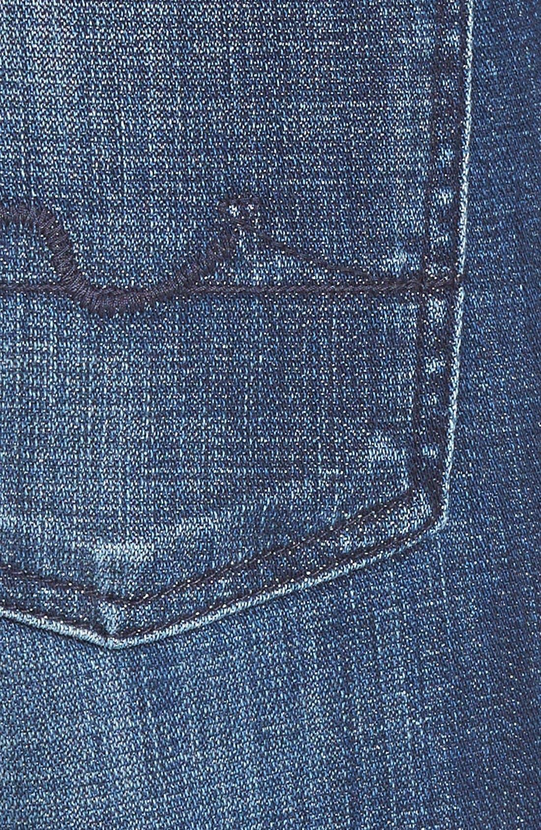 Alternate Image 3  - 7 For All Mankind® 'Josefina' Boyfriend Jeans (Royal Broken Twill)