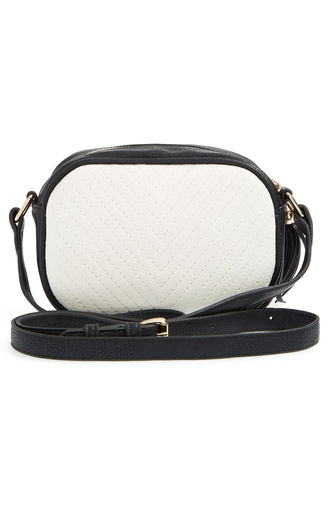 Alternate Image 4  - Street Level Tassel Crossbody Bag