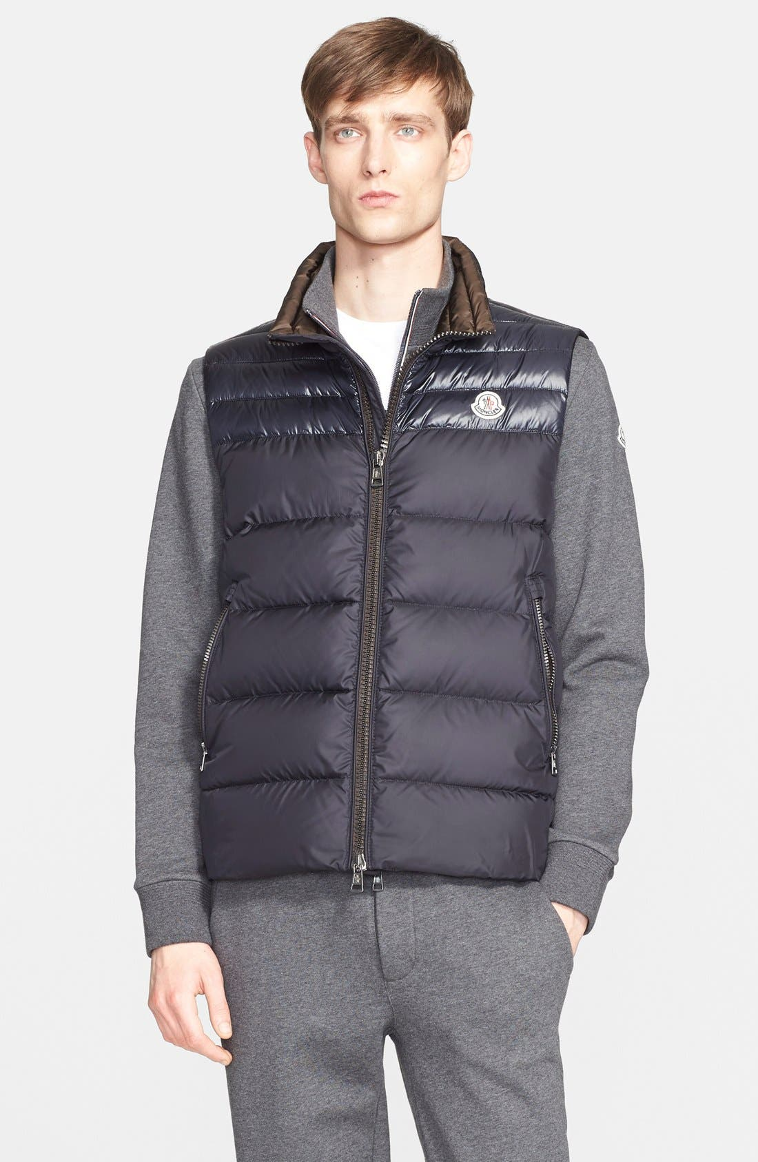 Moncler 'Dupres' Two-Tone Quilted Down Vest