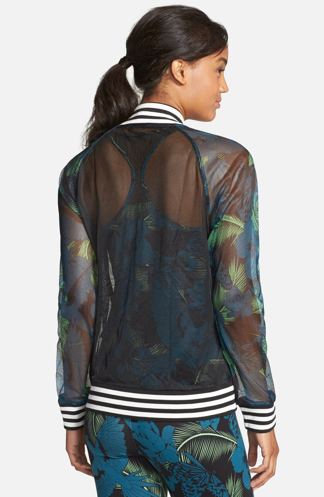 Alternate Image 2  - adidas Originals 'Hawaii' Mesh Track Jacket