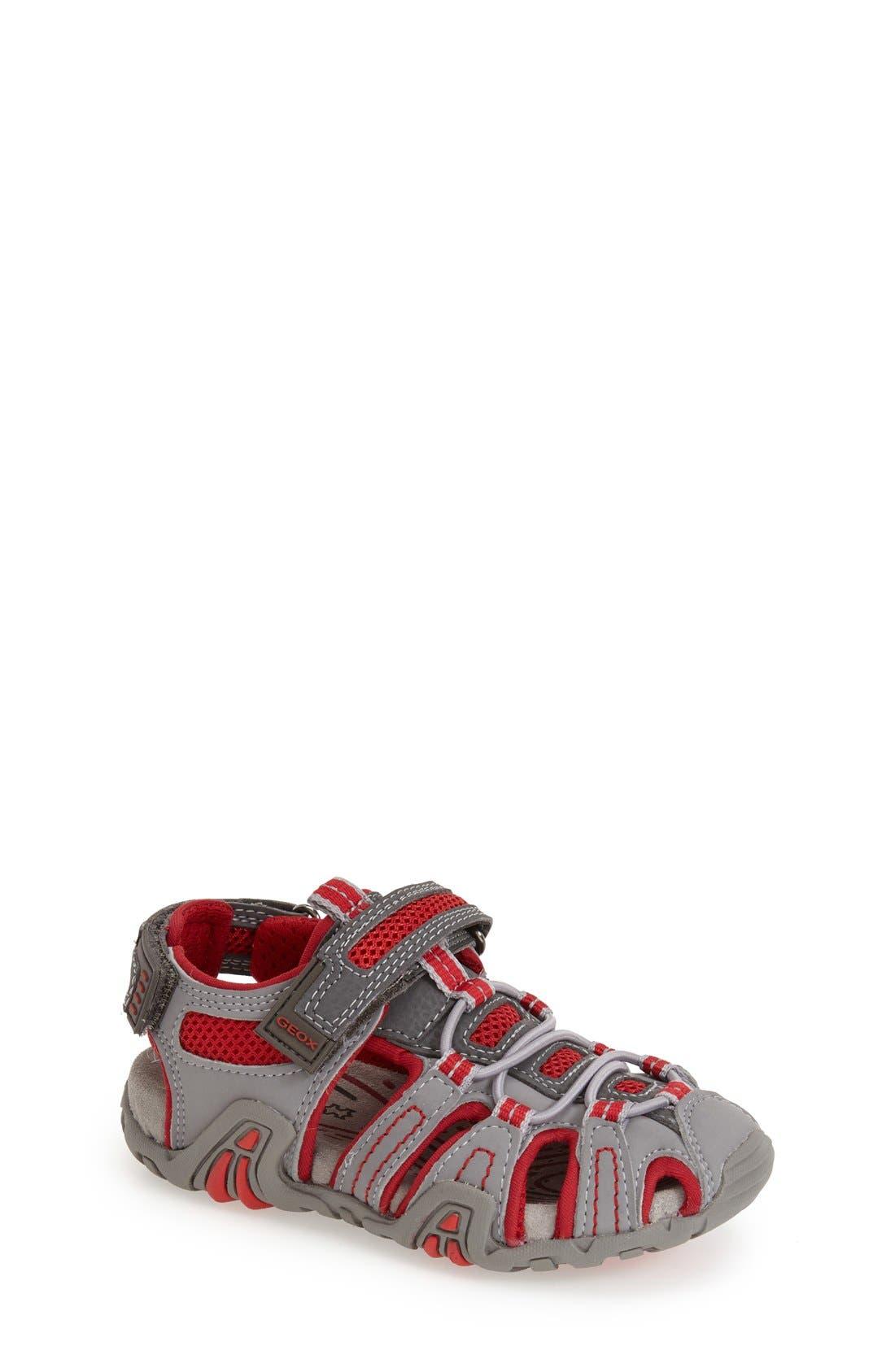 Geox 'Jr Kraze 30' Sandal (Toddler & Little Kid)
