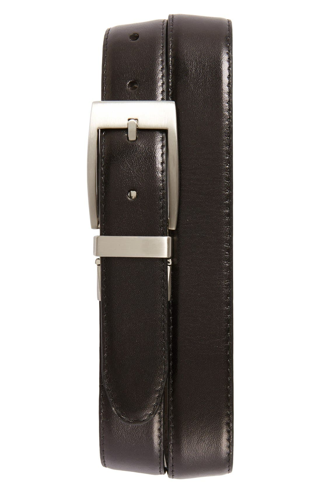 Main Image - Nordstrom Men's Shop Reversible Leather Belt