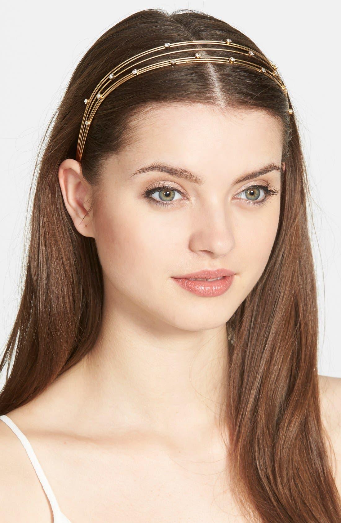 Alternate Image 1 Selected - Ficcare Swarovski Crystal Headband