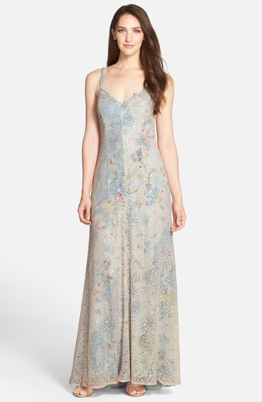 Alternate Image 1 Selected - Vera Wang Sweetheart Gown