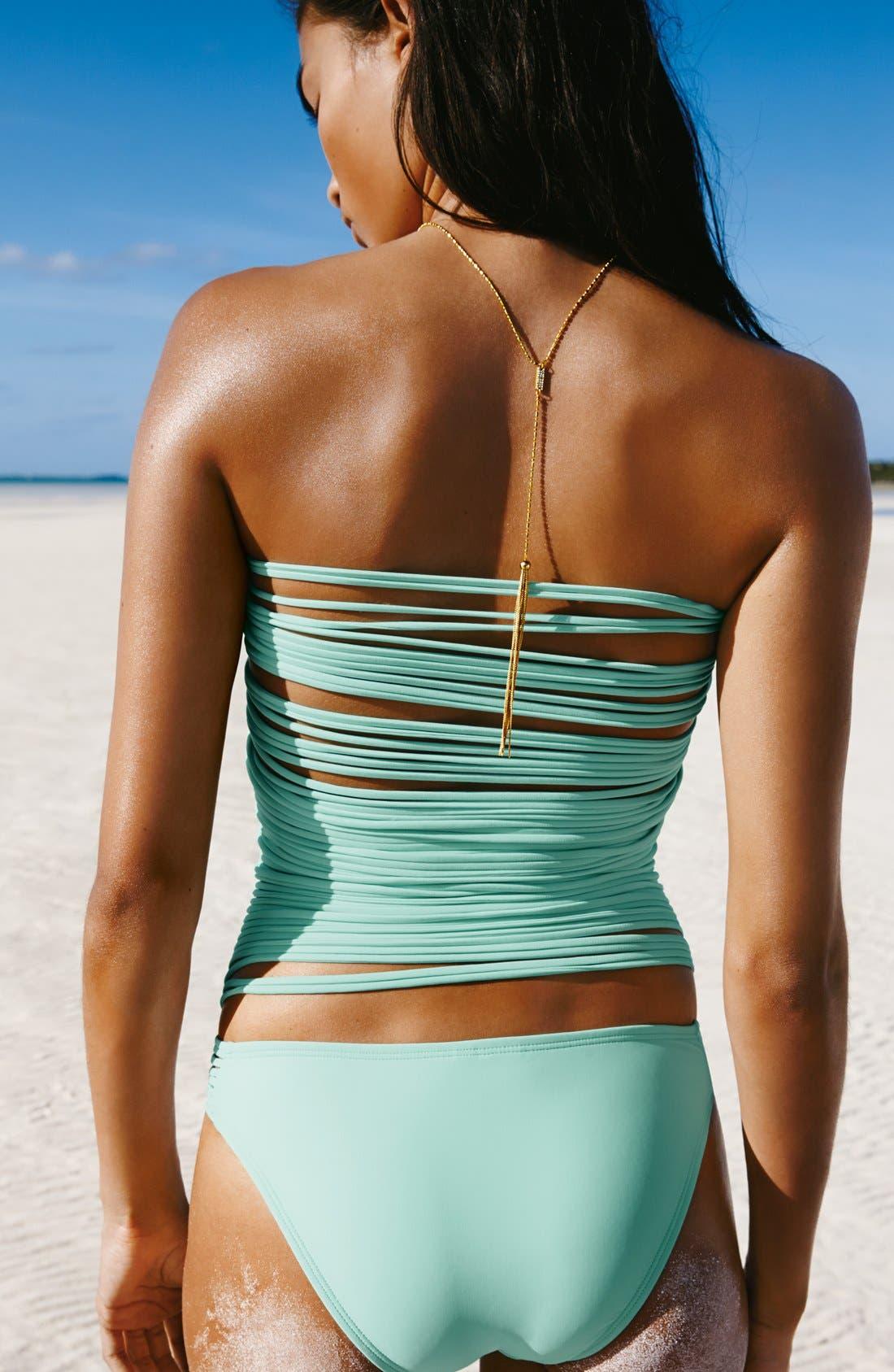 Alternate Image 4  - The Bikini Lab One-Piece String Back Swimsuit