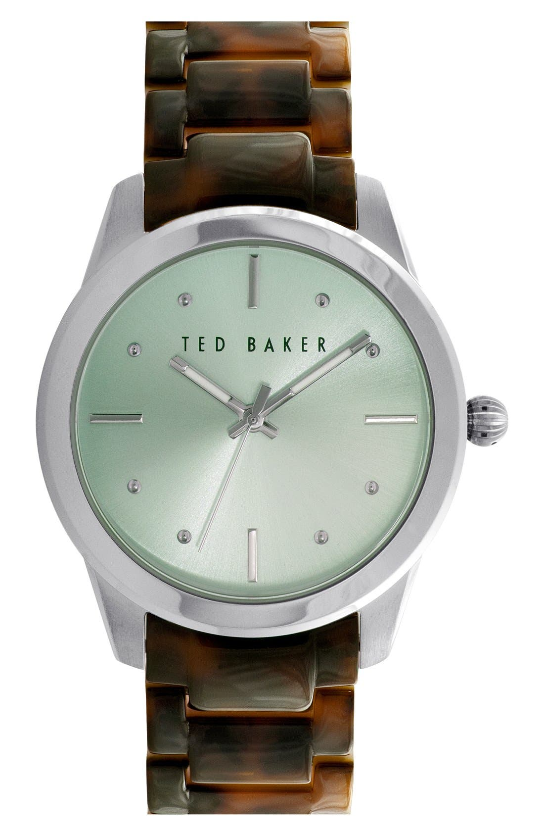 Main Image - Ted Baker London 'Classic Charm' Bracelet Watch, 36mm