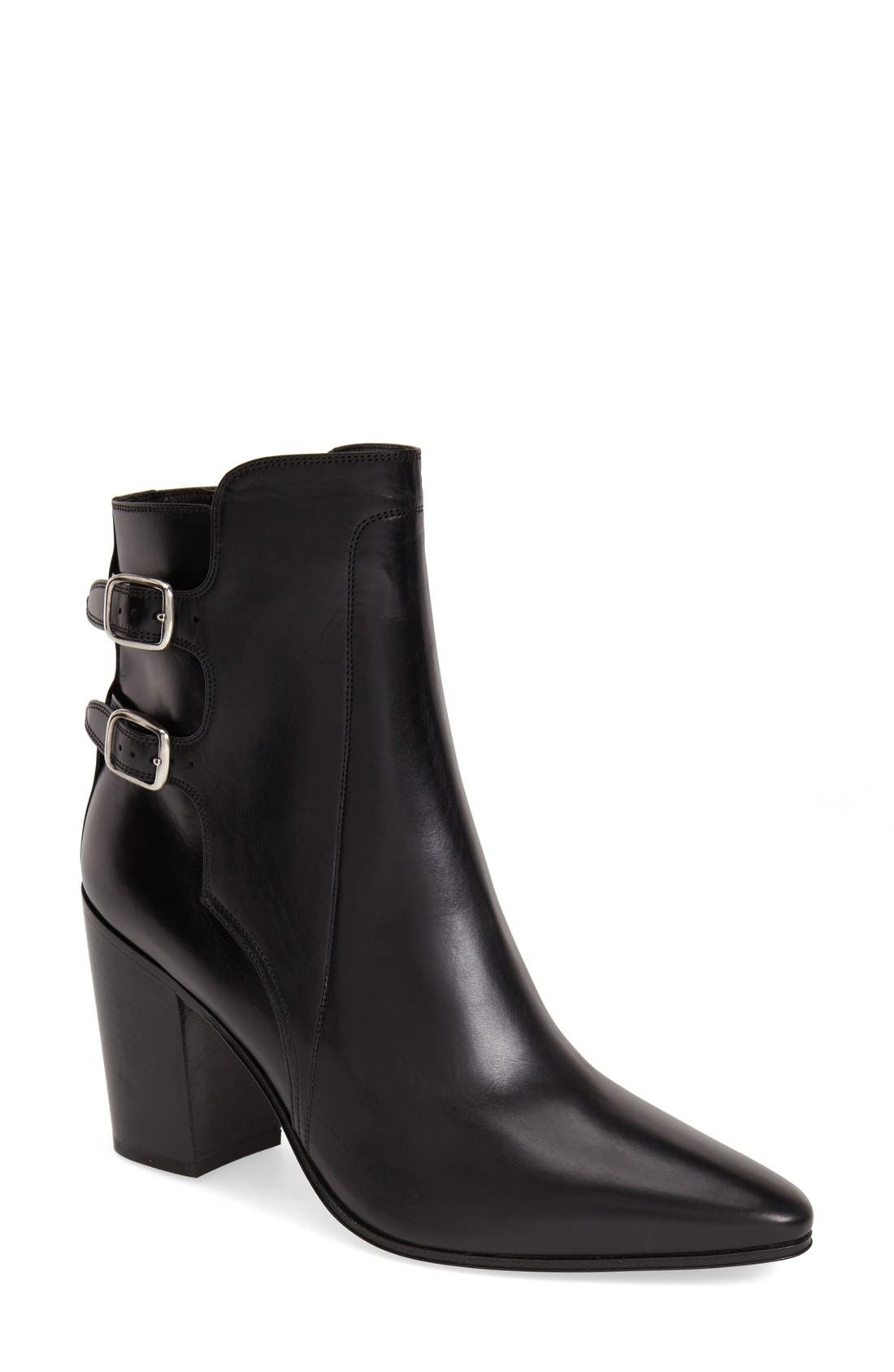 Alternate Image 1 Selected - Saint Laurent Pointy Toe Ankle Boot (Women)