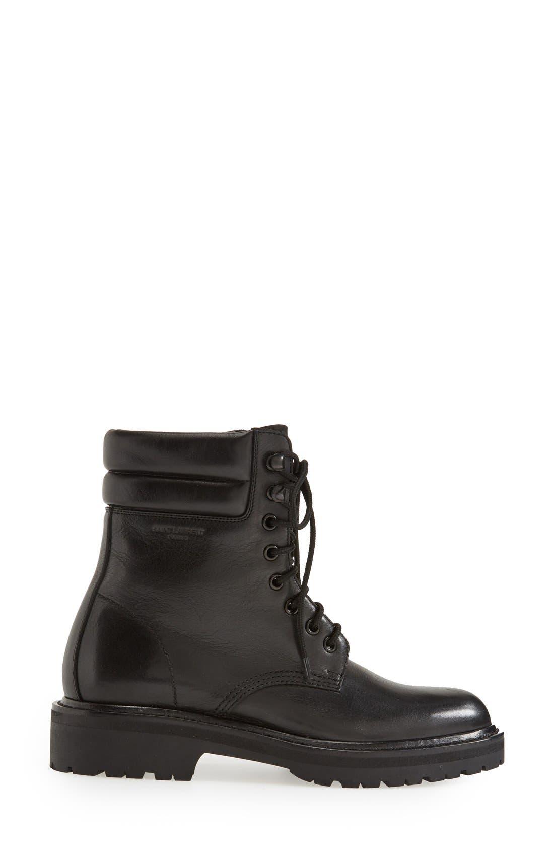 Alternate Image 4  - Saint Laurent 'Army' Lace-Up Boot (Women)
