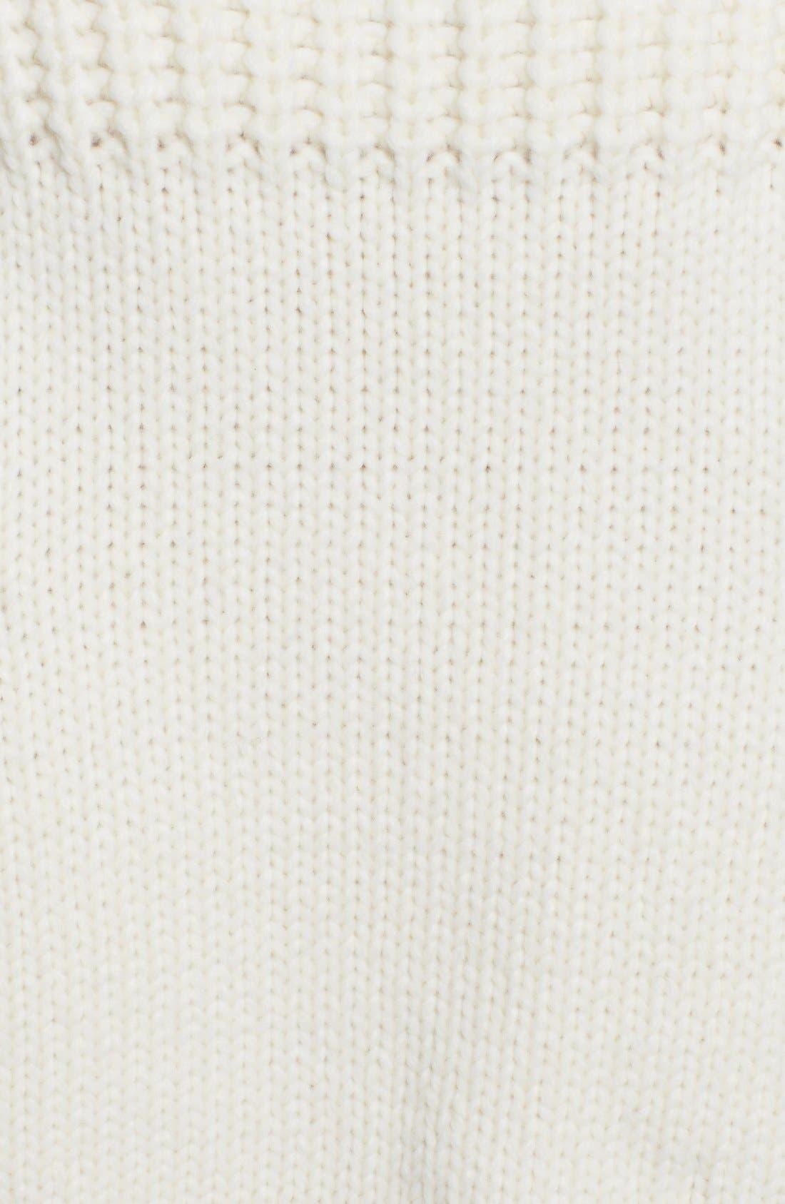 Alternate Image 3  - Stella McCartney Fisherman Turtleneck Sweater