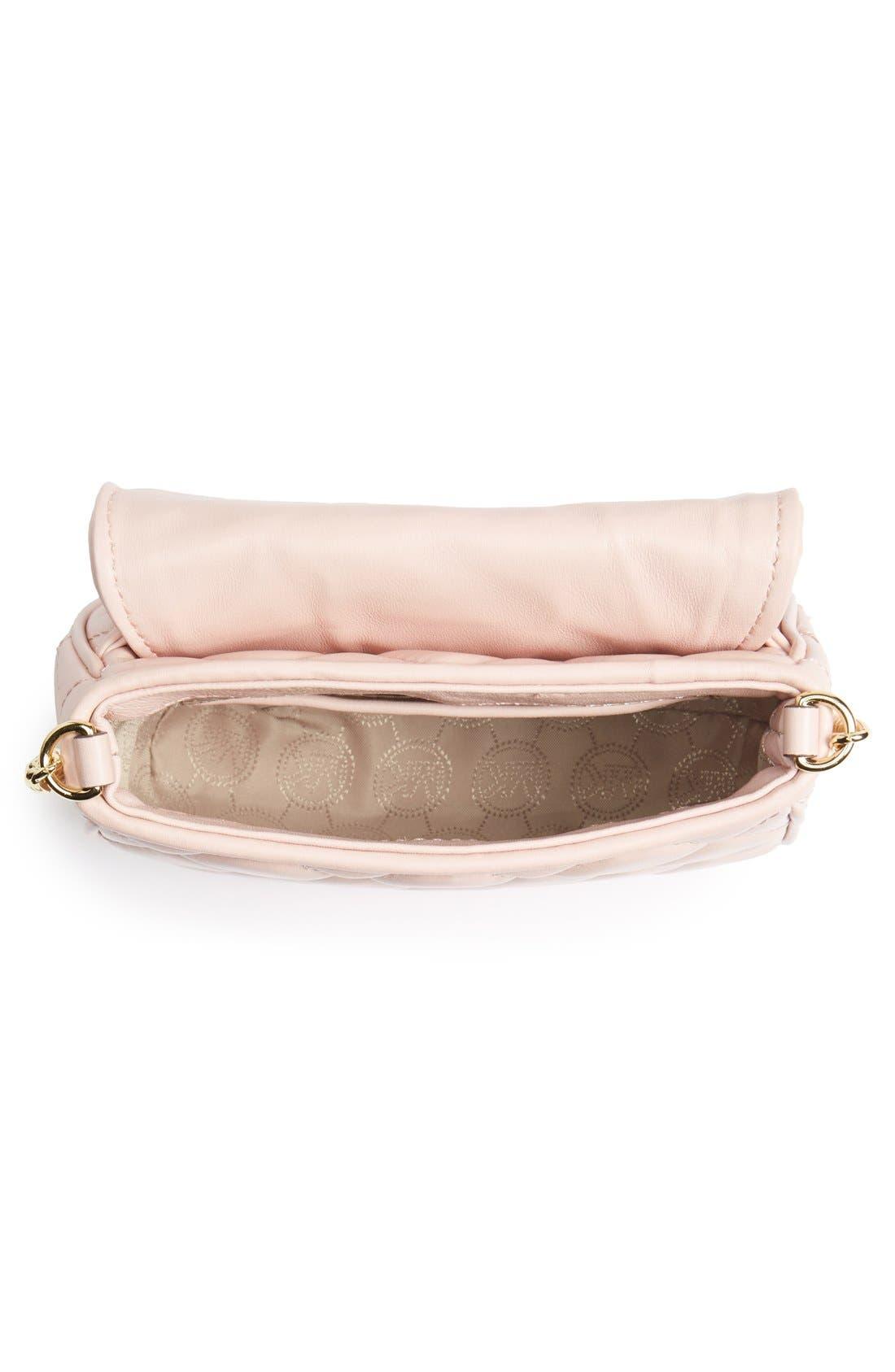 Alternate Image 3  - MICHAEL Michael Kors 'Small Fulton' Quilted Crossbody Bag