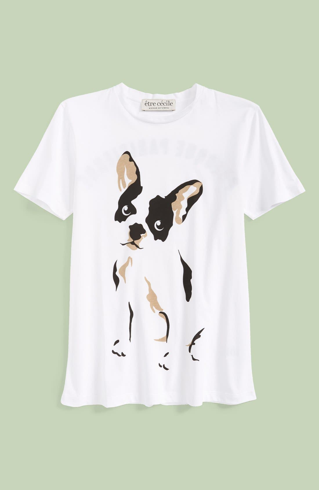 Alternate Image 1 Selected - être cécile 'Comic Dog' Graphic Tee (Women)