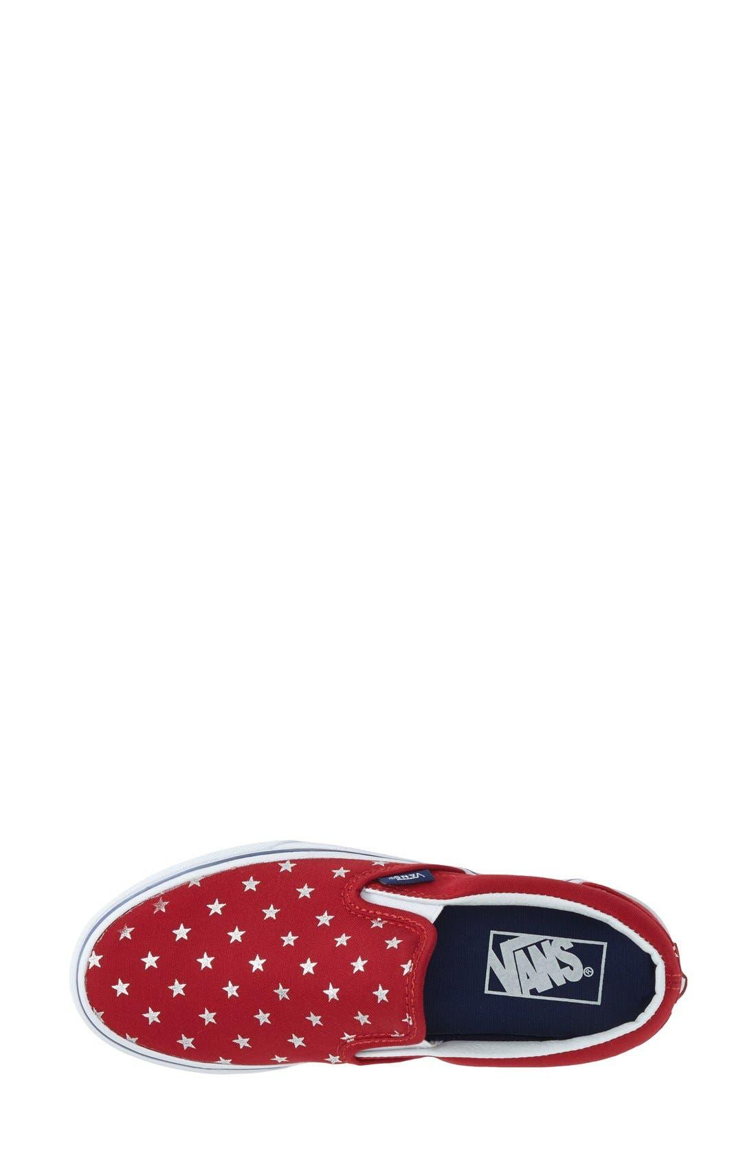 Alternate Image 3  - Vans 'Classic - Stars' Slip-On Sneaker (Women)