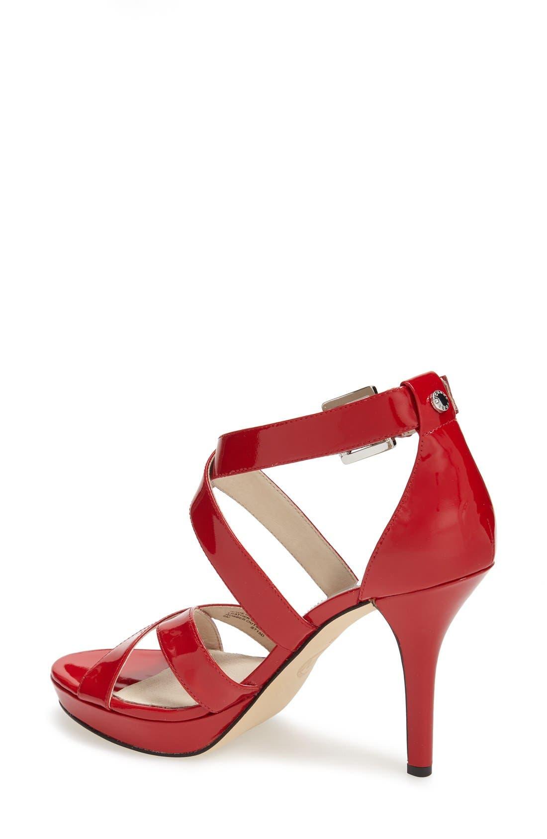 Alternate Image 2  - MICHAEL Michael Kors 'Evie' Platform Sandal (Women)