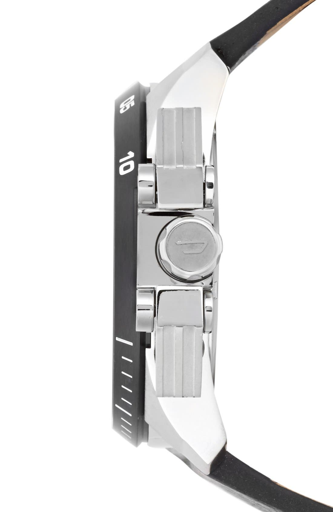 Alternate Image 3  - DIESEL® 'Ironside' Chronograph Watch, 48mm